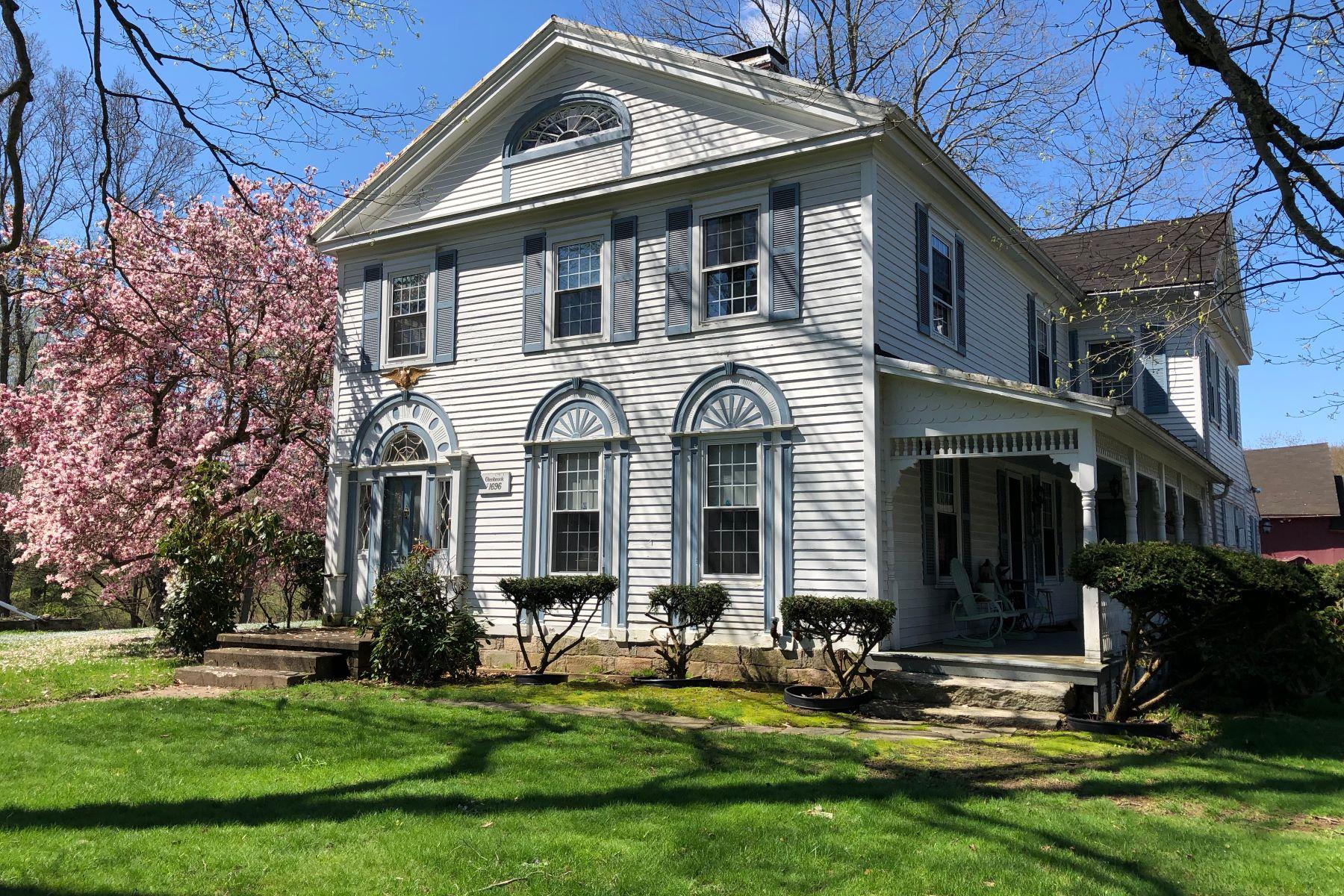 Μονοκατοικία για την Πώληση στο Picturesque Antique Colonial Estate 429 Quaker Farms Road, Οξφόρδη, Κονεκτικατ 06478 Ηνωμένες Πολιτείες