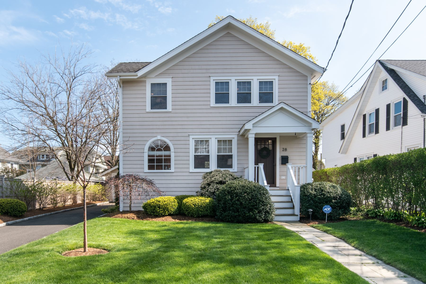 Single Family Homes for Sale at Fabulous Colonial Beach House 28 3rd Street Norwalk, Connecticut 06855 United States