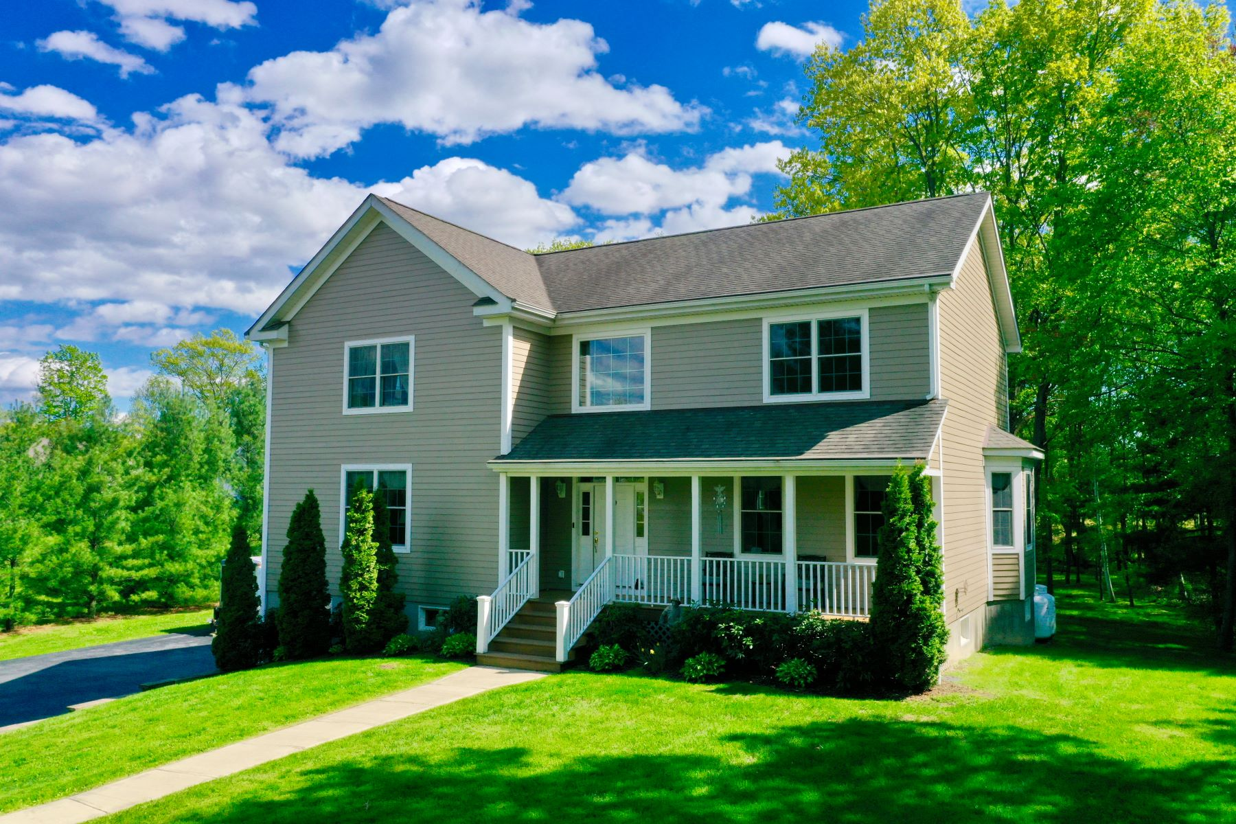 Single Family Homes for Sale at Four Seasons of Perpetual Zen 233 Lake Road Pine Plains, New York 12567 United States
