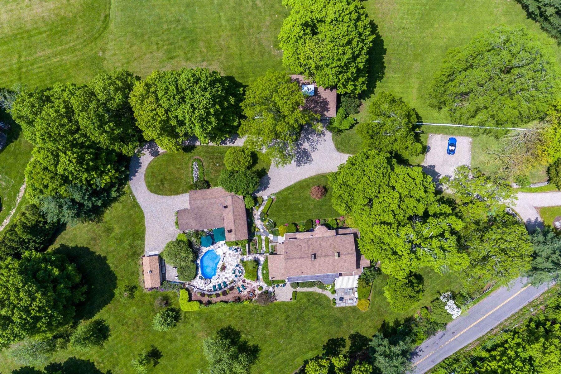 Single Family Homes for Sale at Historic Buckingham Estate with Guest House & Barn 4 Mine Hill Road New Milford, Connecticut 06776 United States