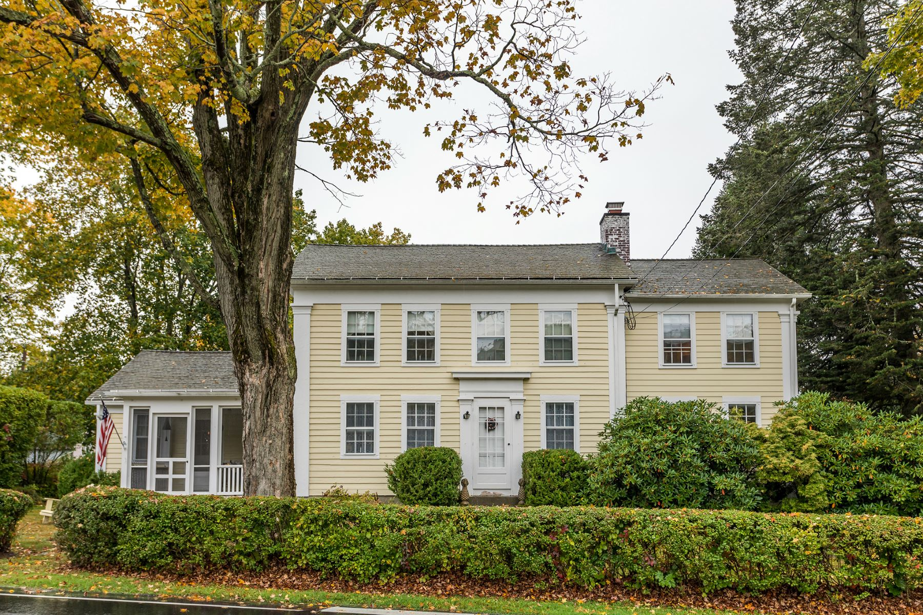 Single Family Homes for Sale at Antique Farmhouse 1 Warner Road Bridgewater, Connecticut 06752 United States