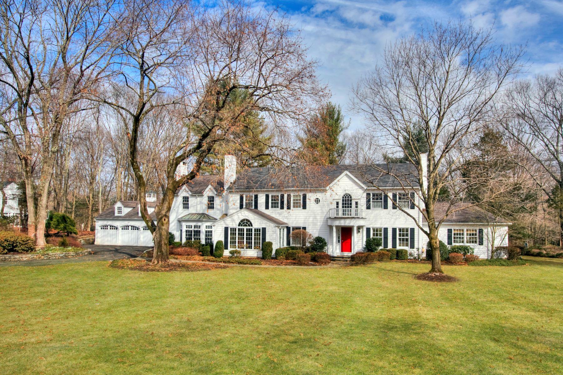 Частный односемейный дом для того Продажа на 67 Fable Farm Road New Canaan, Коннектикут, 06840 Соединенные Штаты