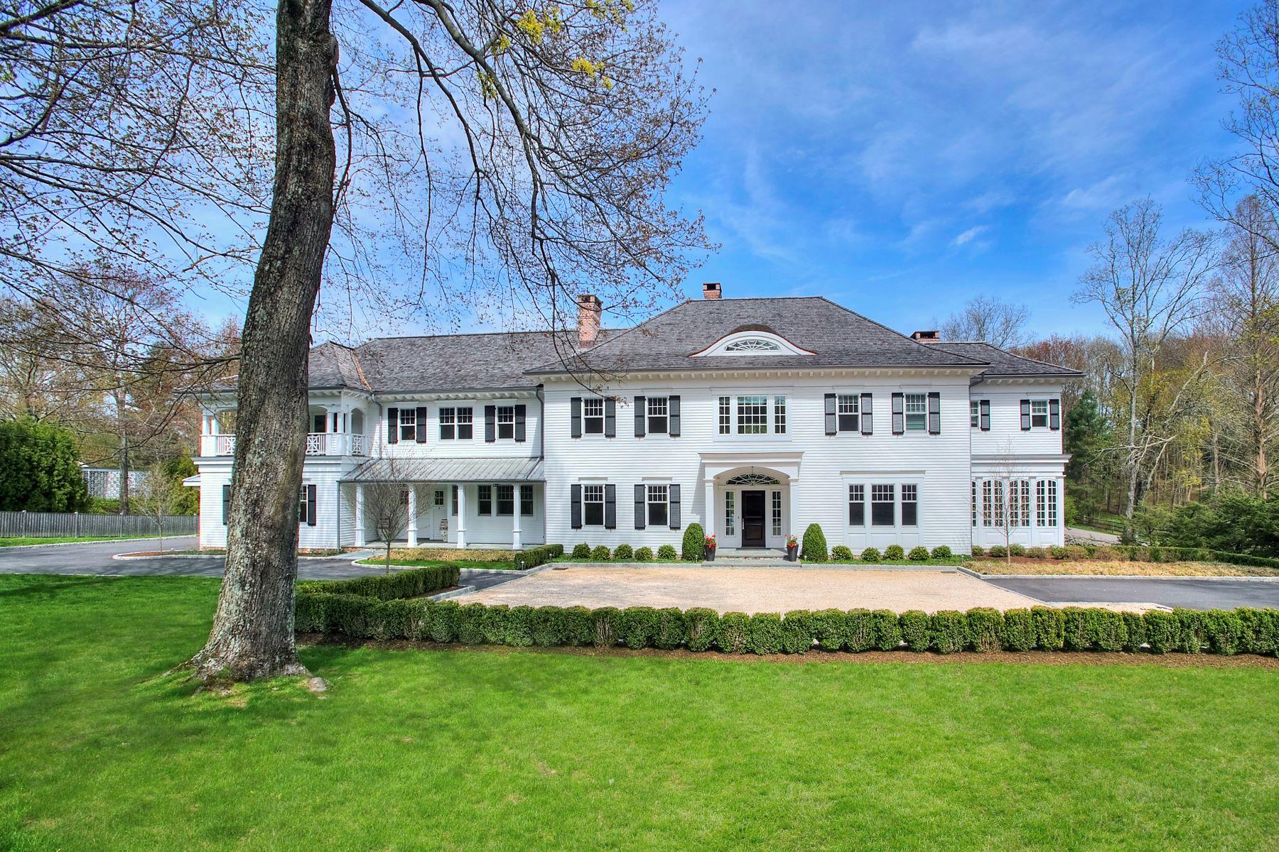 single family homes voor Verkoop op New Canaan, Connecticut 06840 Verenigde Staten