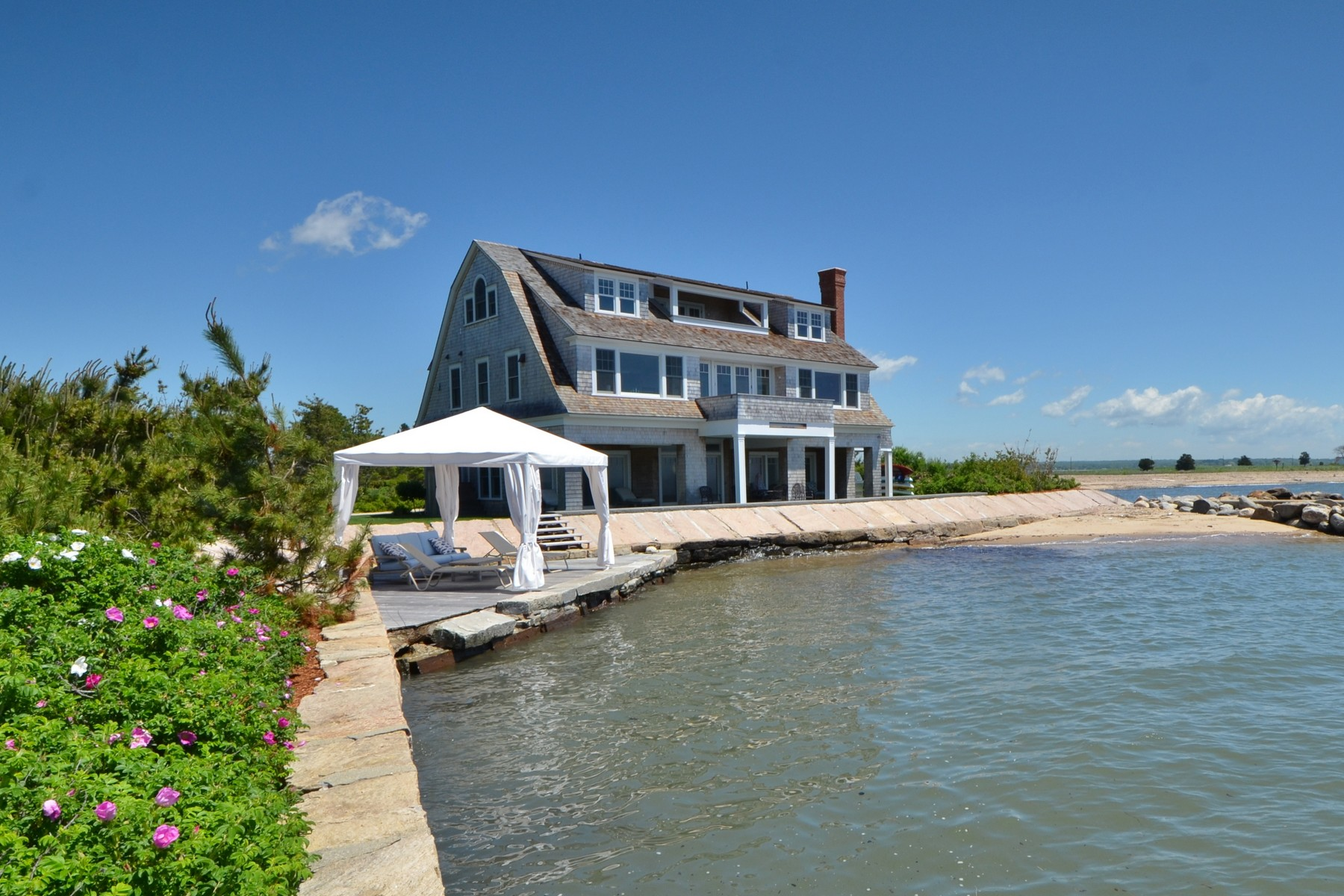 Single Family Homes for Sale at Waterfront Paradise At Your Fingertips 6 Mohegan Avenue Old Saybrook, Connecticut 06475 United States