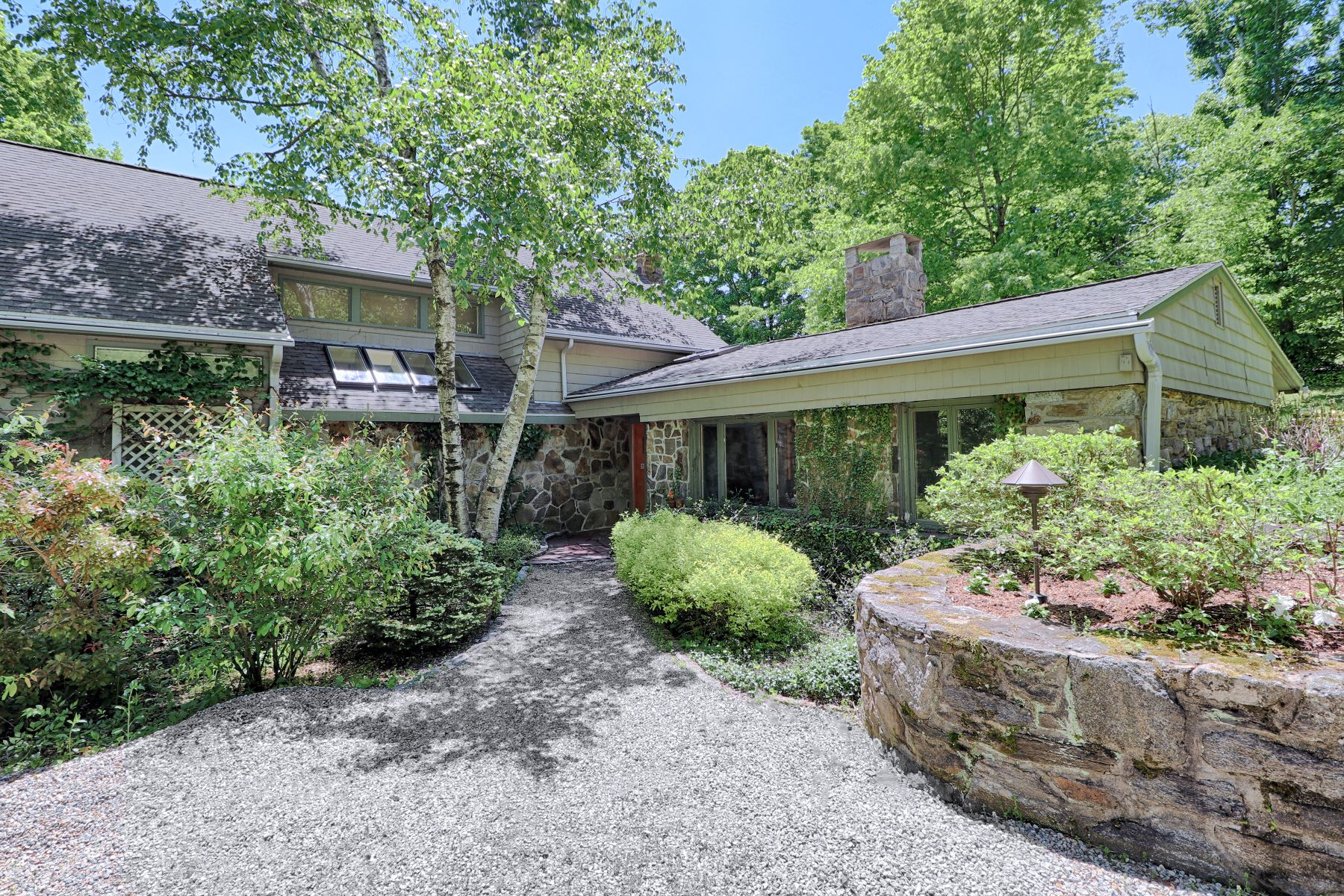 Single Family Homes for Sale at Country Retreat 26 Wells Hill Road Weston, Connecticut 06883 United States