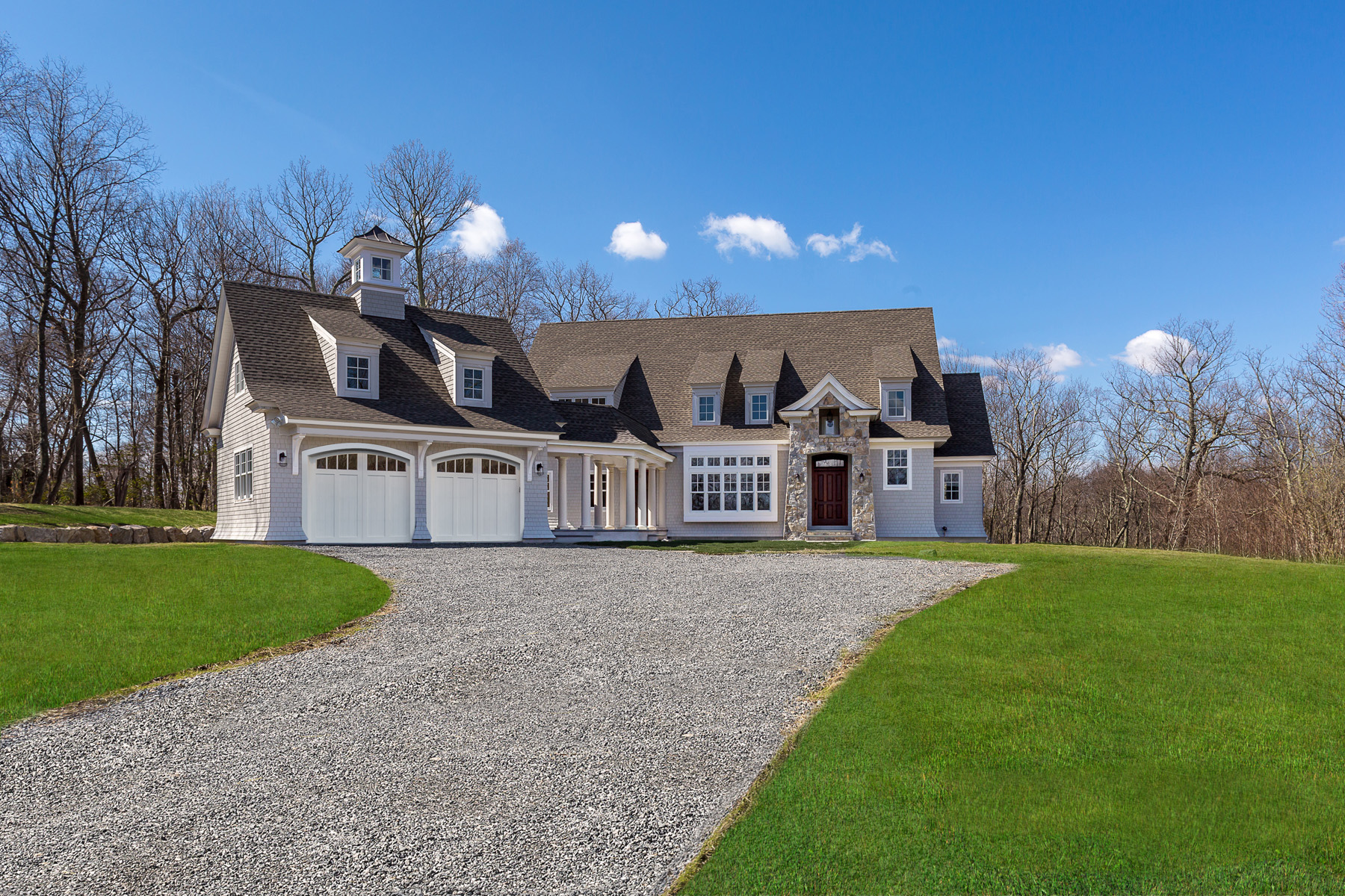 Single Family Home for Sale at New Construction 11 Hillcrest Lane Weston, Connecticut 06883 United States