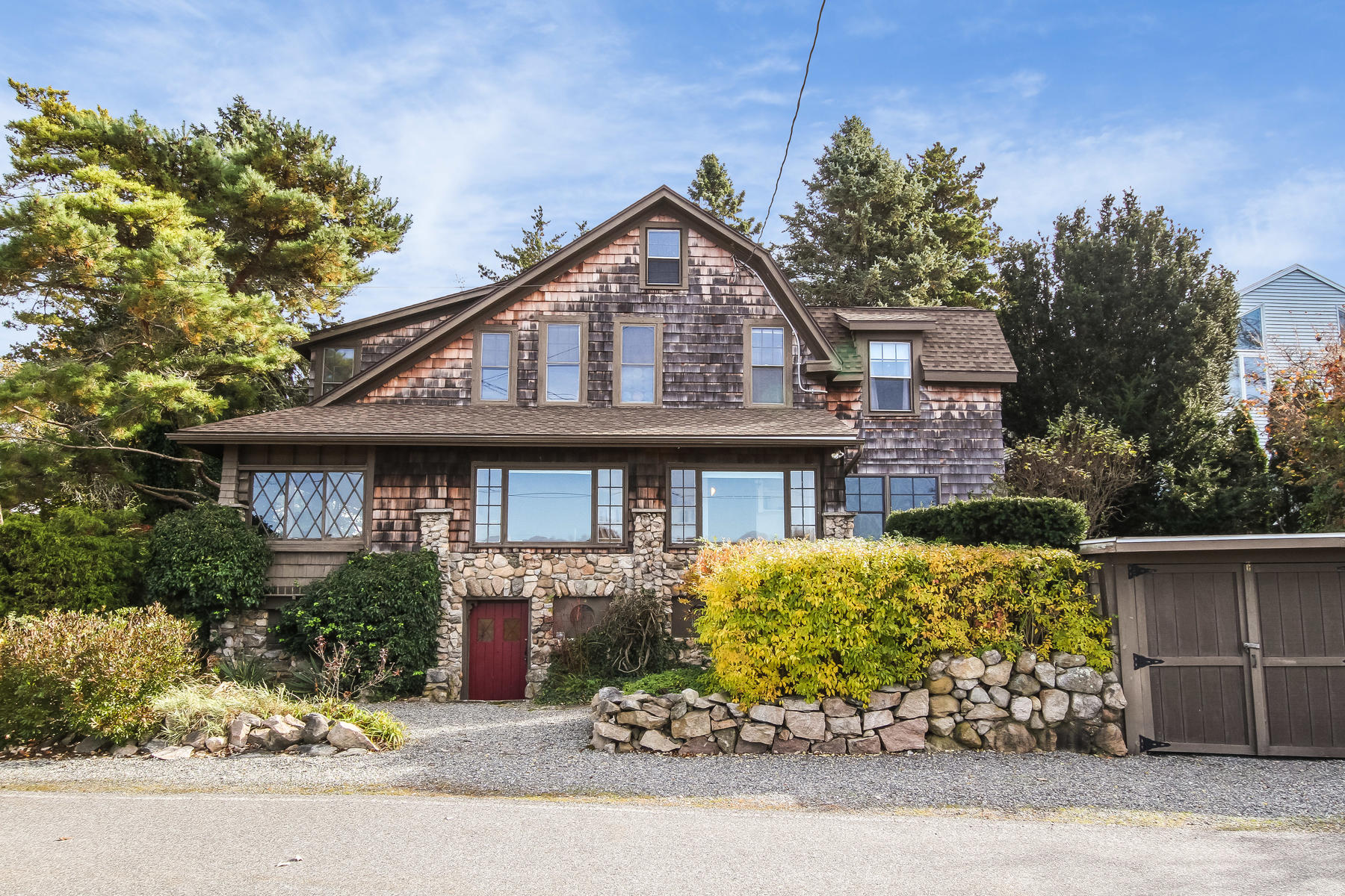 Single Family Homes for Sale at Classic Shingle Stone Craftsman 7 & 9 Cross Street Groton, Connecticut 06340 United States