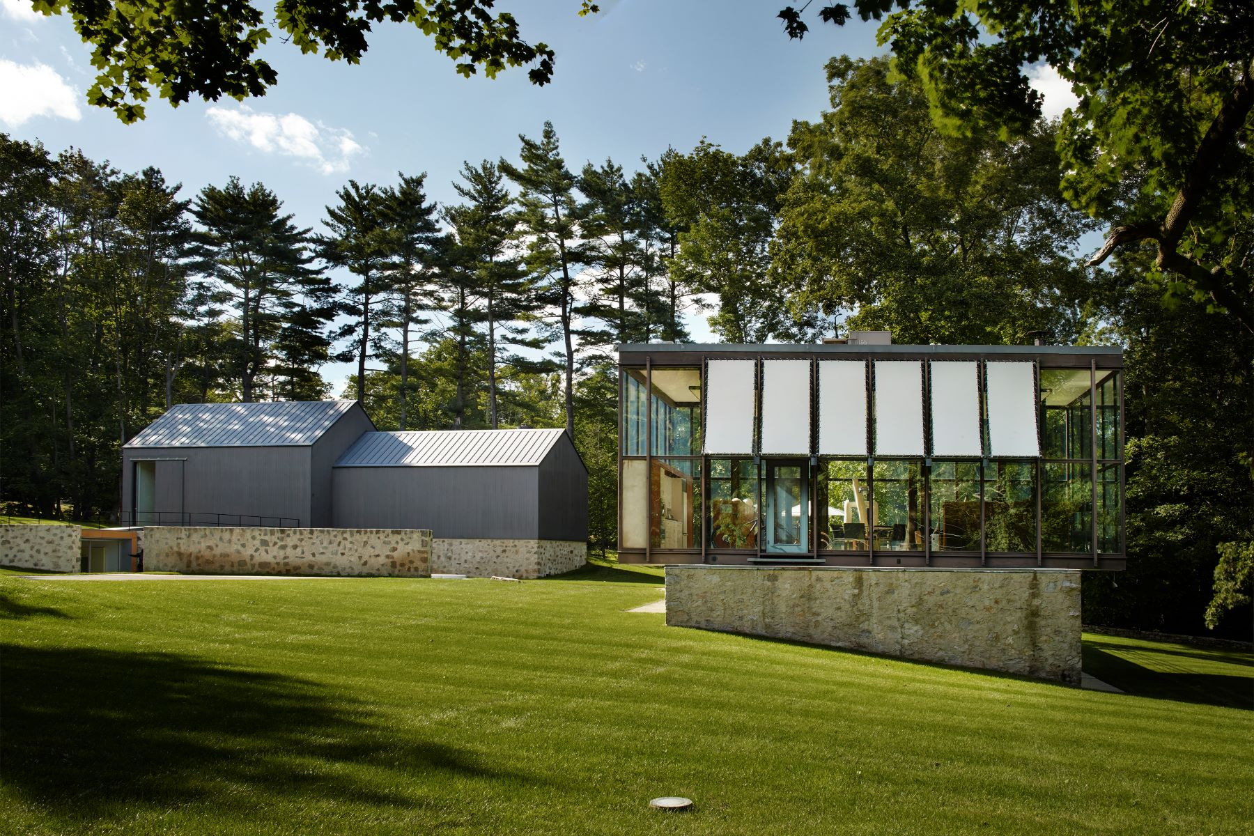 Casa Unifamiliar por un Venta en Stunning Philip Johnson Modern 218 Sleepy Hollow Road New Canaan, Connecticut 06840 Estados Unidos