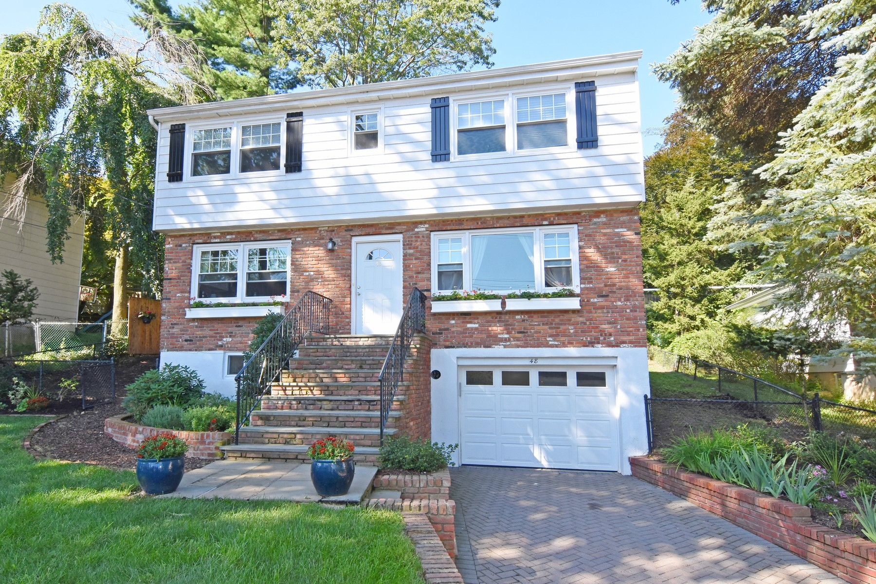 Single Family Homes for Sale at Charming Newly Renovated Colonial 48 Ogden Place Dobbs Ferry, New York 10522 United States