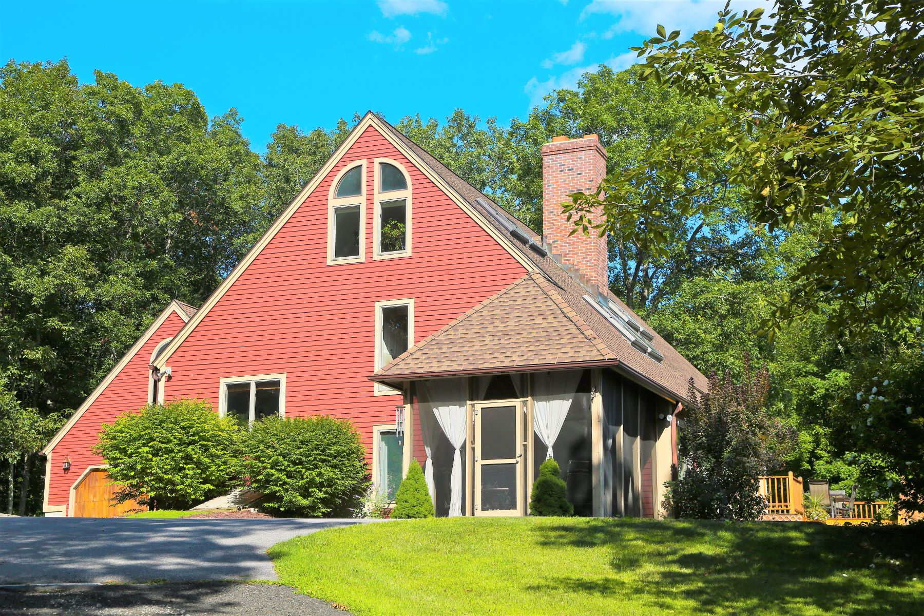 Single Family Homes for Sale at One's Own Nature Preserve 88 Eno Hill Road Colebrook, Connecticut 06021 United States