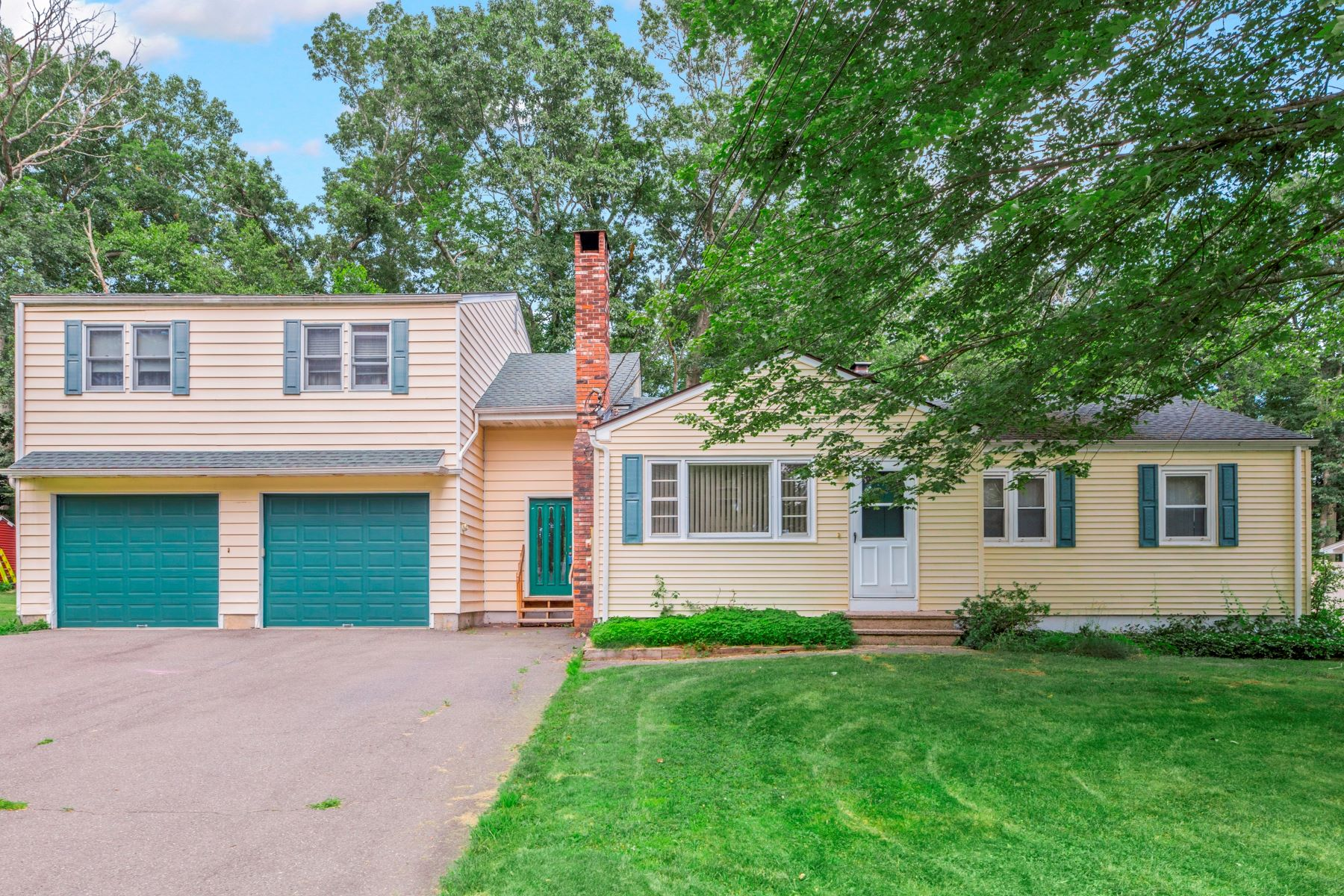 Single Family Homes for Sale at Ranch Home with In-Law Apartment 5 Walter Road Seymour, Connecticut 06483 United States