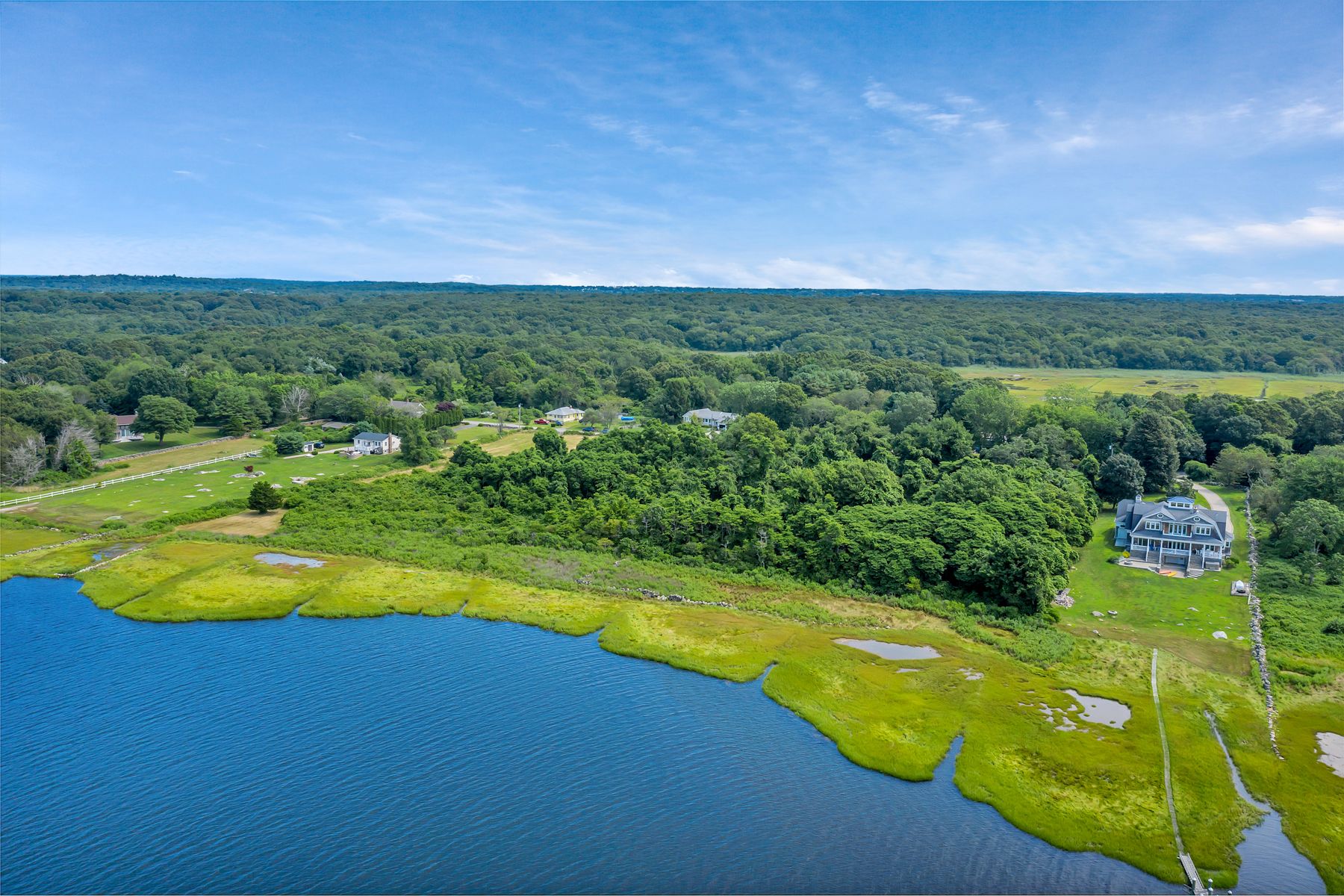 Terreno para Venda às Spectacular Waterfront Land! 238b Palmer Neck Road, Stonington, Connecticut 06378 Estados Unidos
