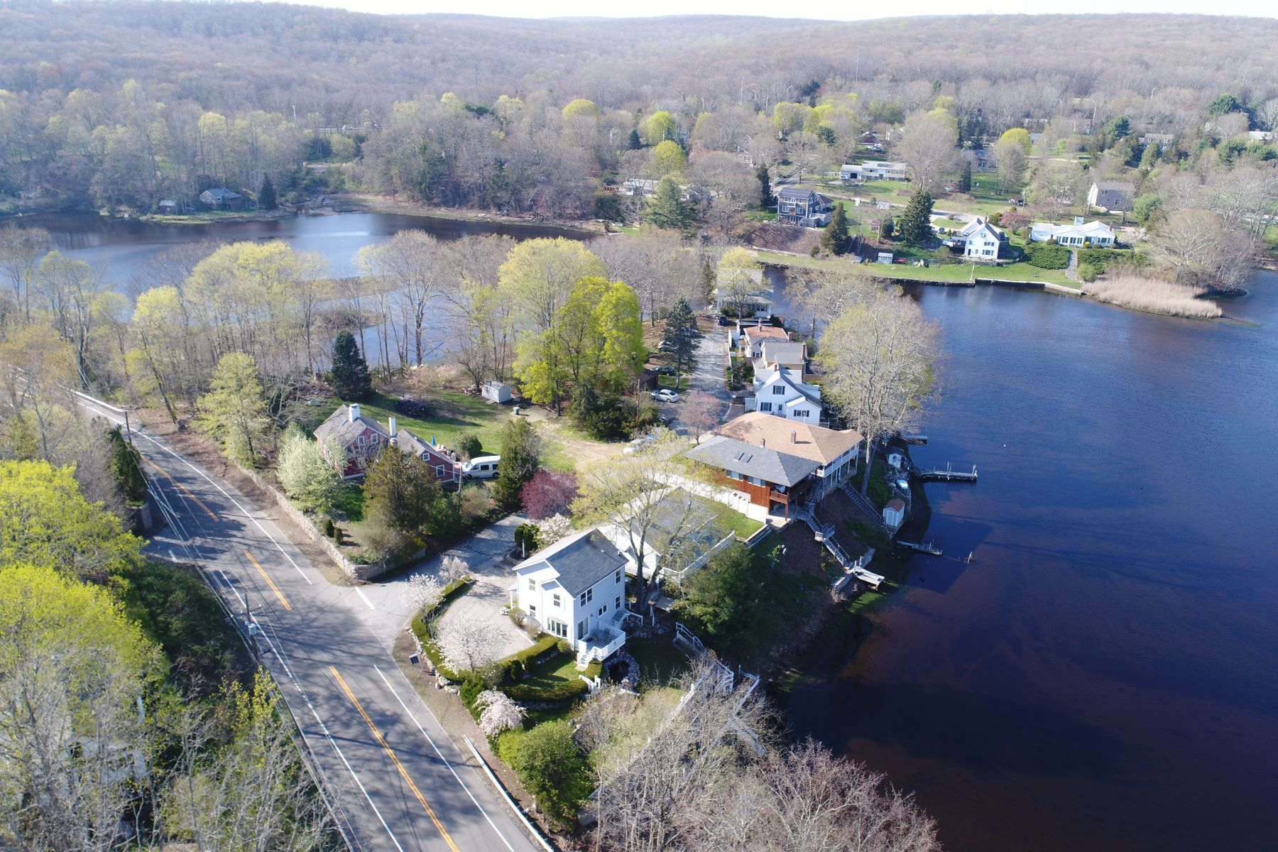 Single Family Home for Sale at Waterfront Home With Dock 1 Summit Ave East Lyme, Connecticut, 06333 United States
