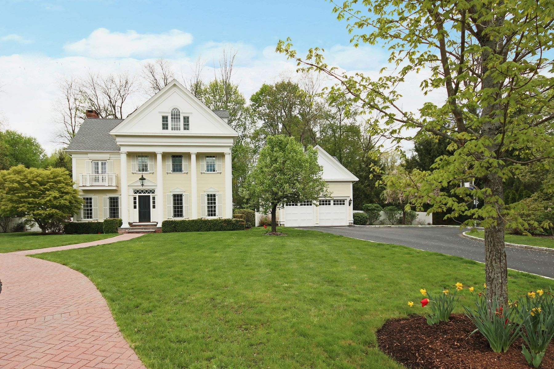 single family homes for Sale at Best of In-town Living 547 Main Street, Ridgefield, Connecticut 06877 United States