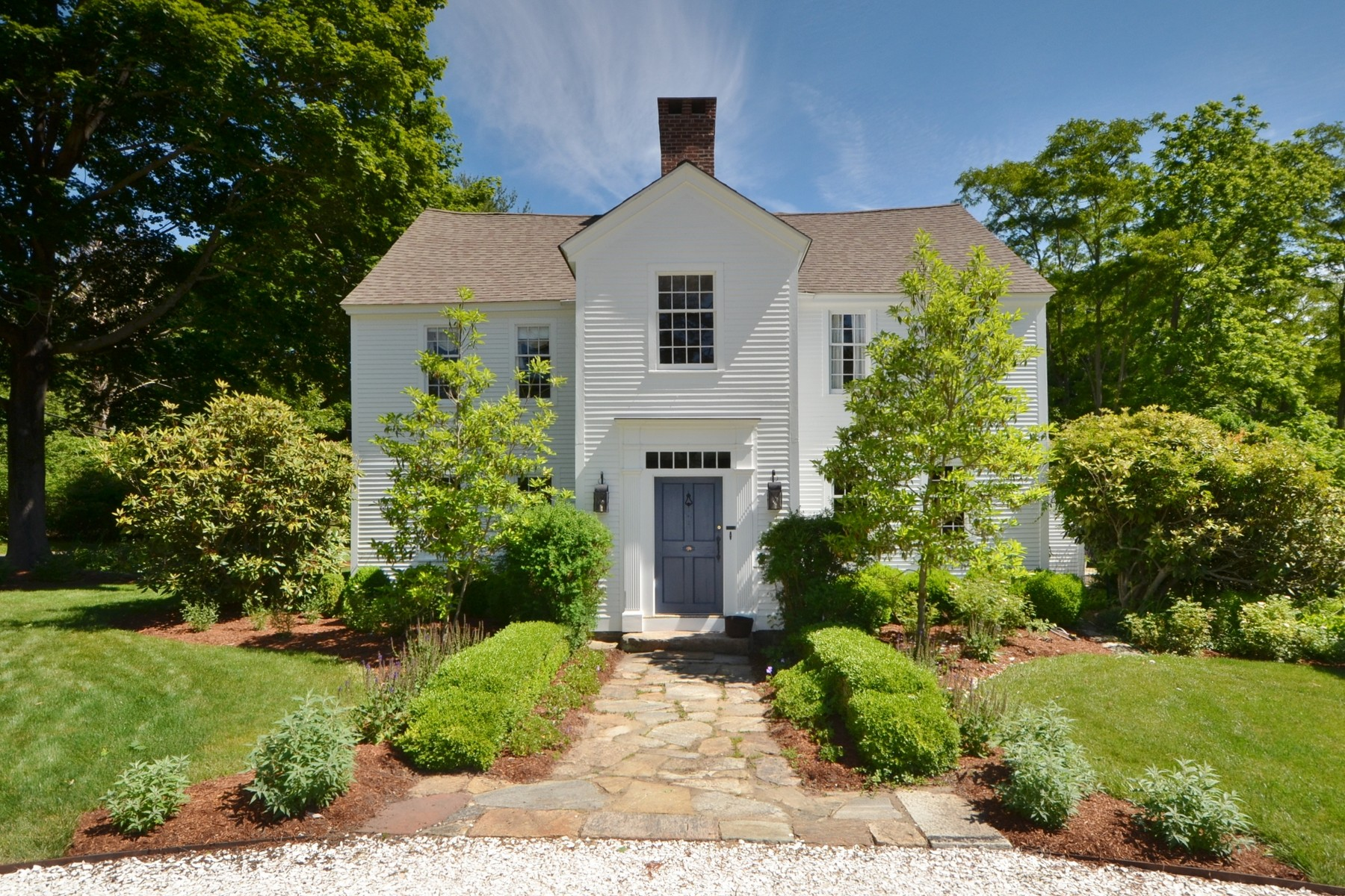 "Single Family Home for Sale at Extraordinary Ca.1680 Home Known as ""Peck Tavern"" 1 Sill Lane Old Lyme, Connecticut 06371 United States"