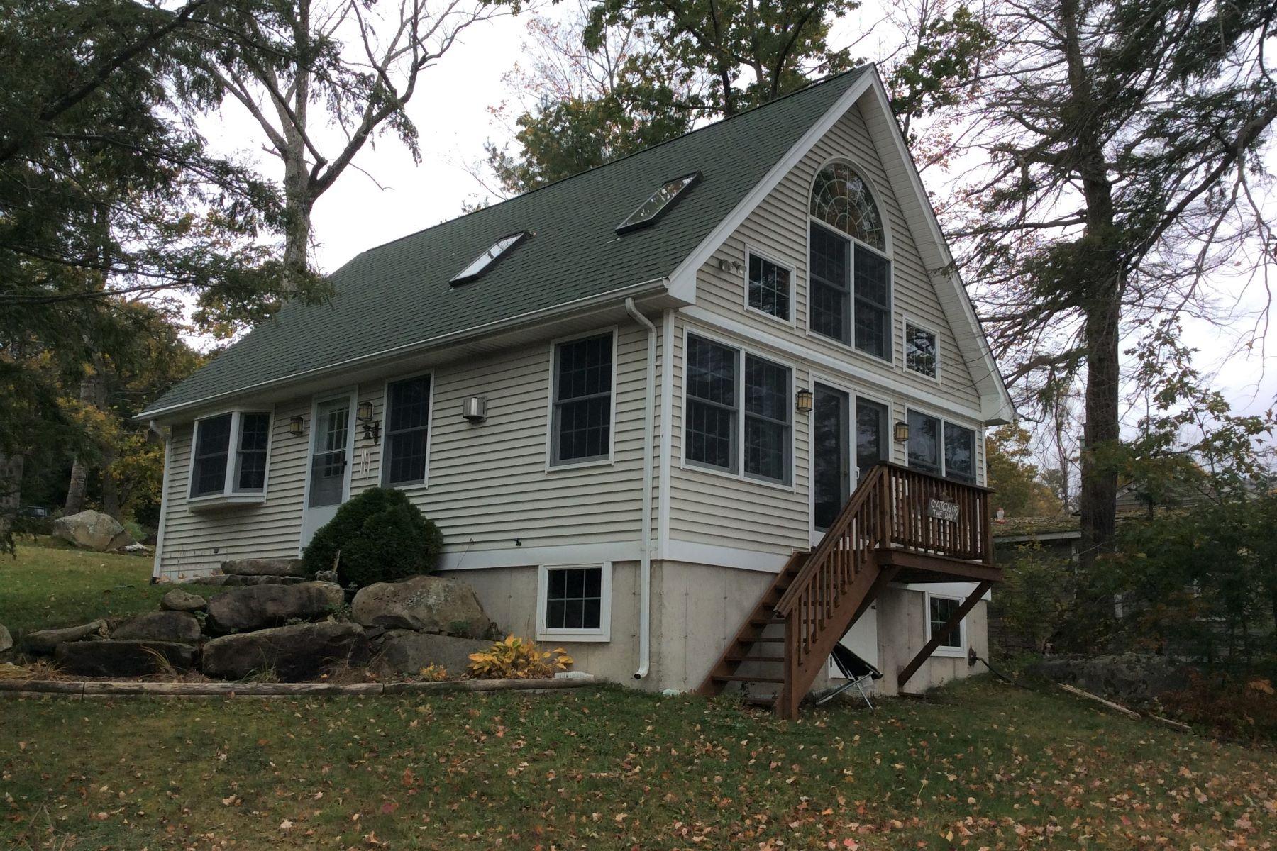 단독 가정 주택 용 매매 에 Tyler Lake Waterfront 42 Cottage Grove Road, Goshen, 코네티컷, 06756 미국