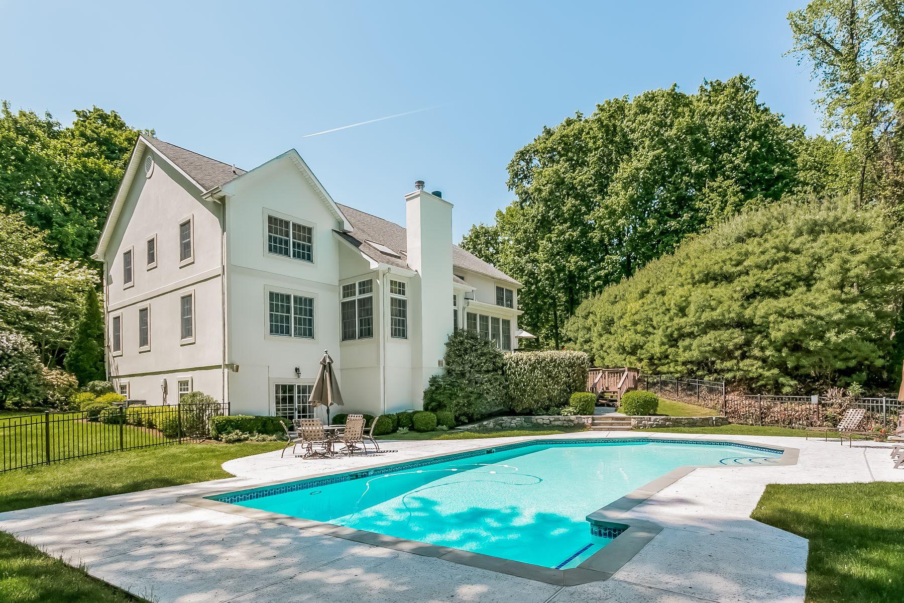 واحد منزل الأسرة للـ Sale في 4 Puritan Woods Road Rye, New York, 10580 United States