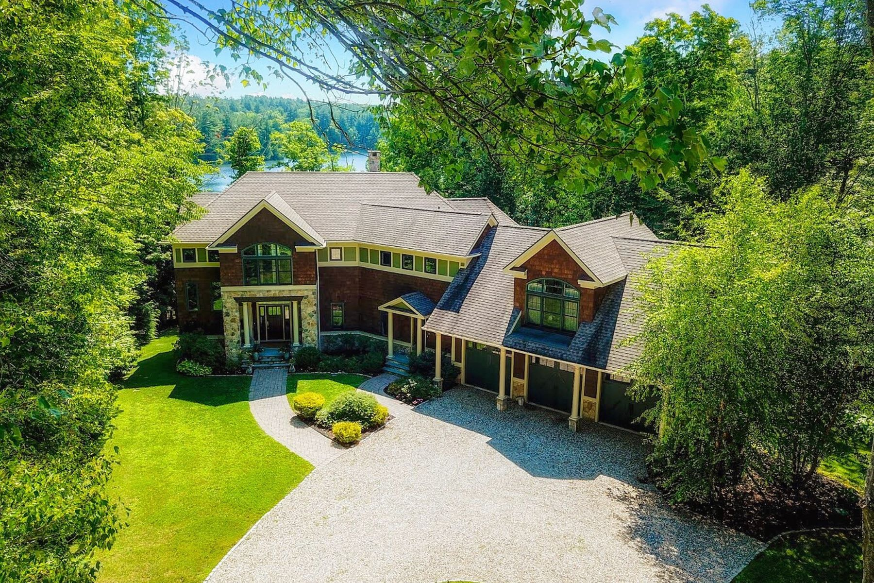 Single Family Homes للـ Sale في Park Avenue on the Lake 167 West Hyerdale Drive, Goshen, Connecticut 06756 United States