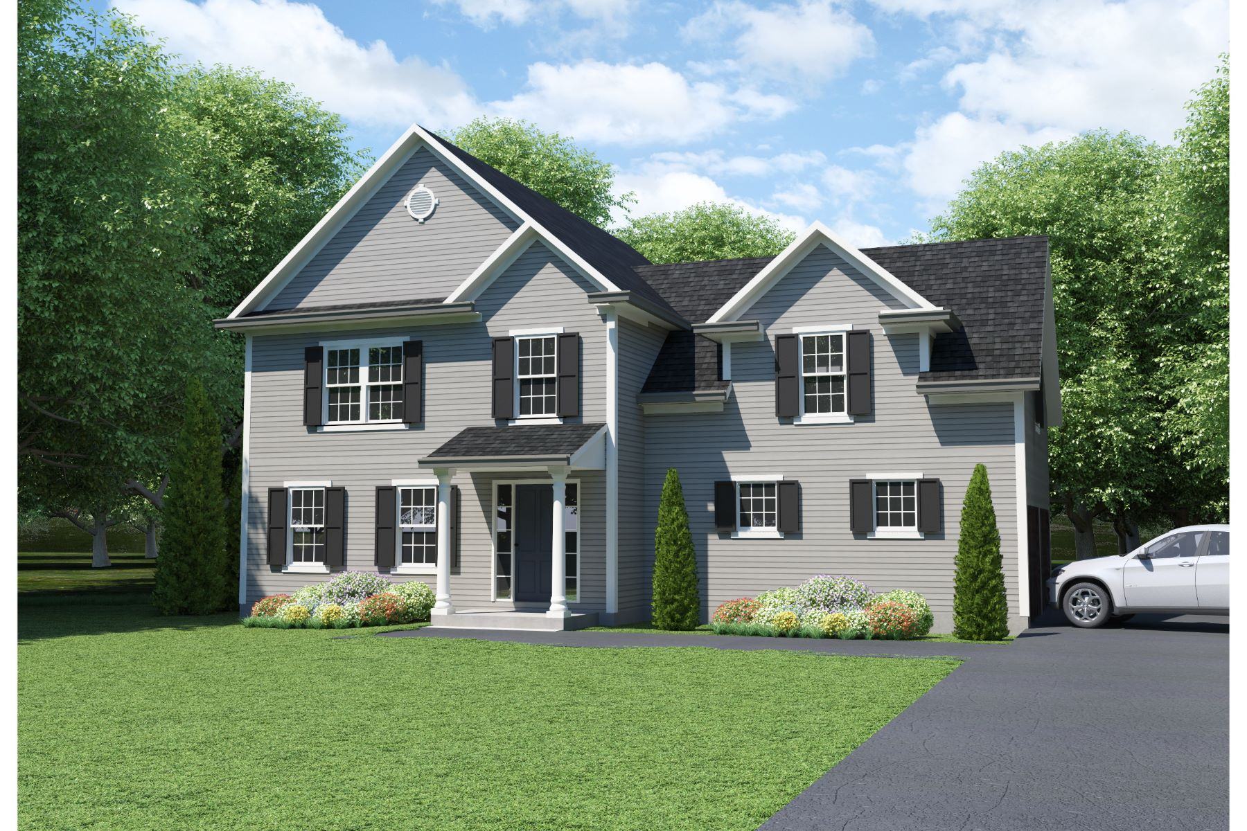 single family homes vì Bán tại To Be Built Classic Customizable Colonial 94 Quail Run Road Lot 24, Woodbury, Connecticut 06798 Hoa Kỳ