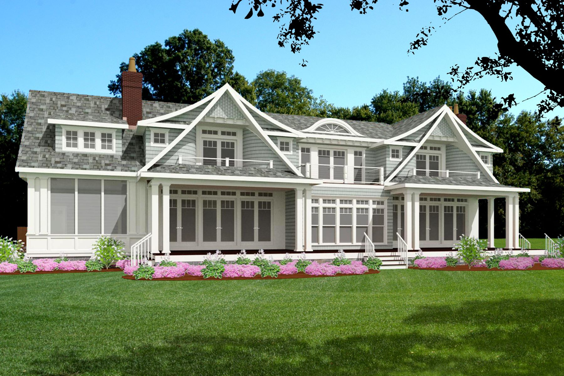 Single Family Homes for Sale at New Construction 63a Middle Beach Road Madison, Connecticut 06443 United States
