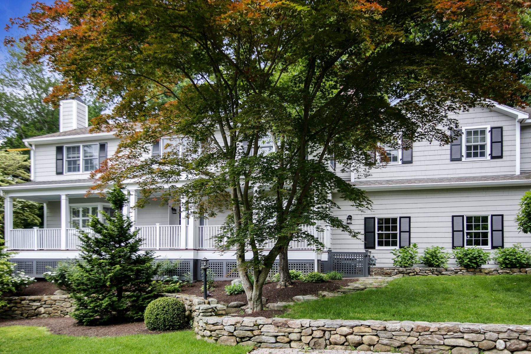 Single Family Homes per Vendita alle ore Southport Village Colonial 21 Taintor Drive Fairfield, Connecticut 06890 Stati Uniti