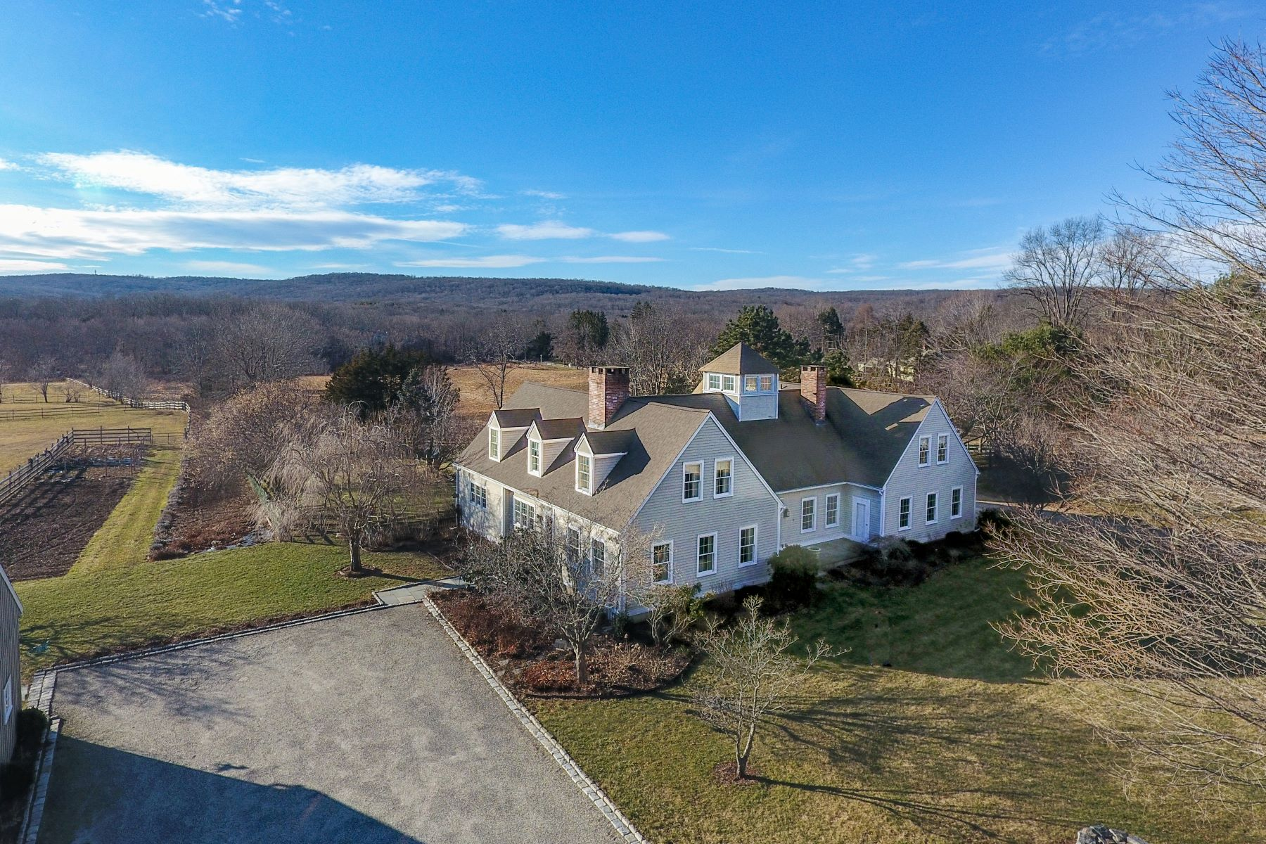 Farm / Ranch / Plantation for Sale at Country Estate with Horse Stables 5 Three Bridges Road East Haddam, Connecticut 06423 United States