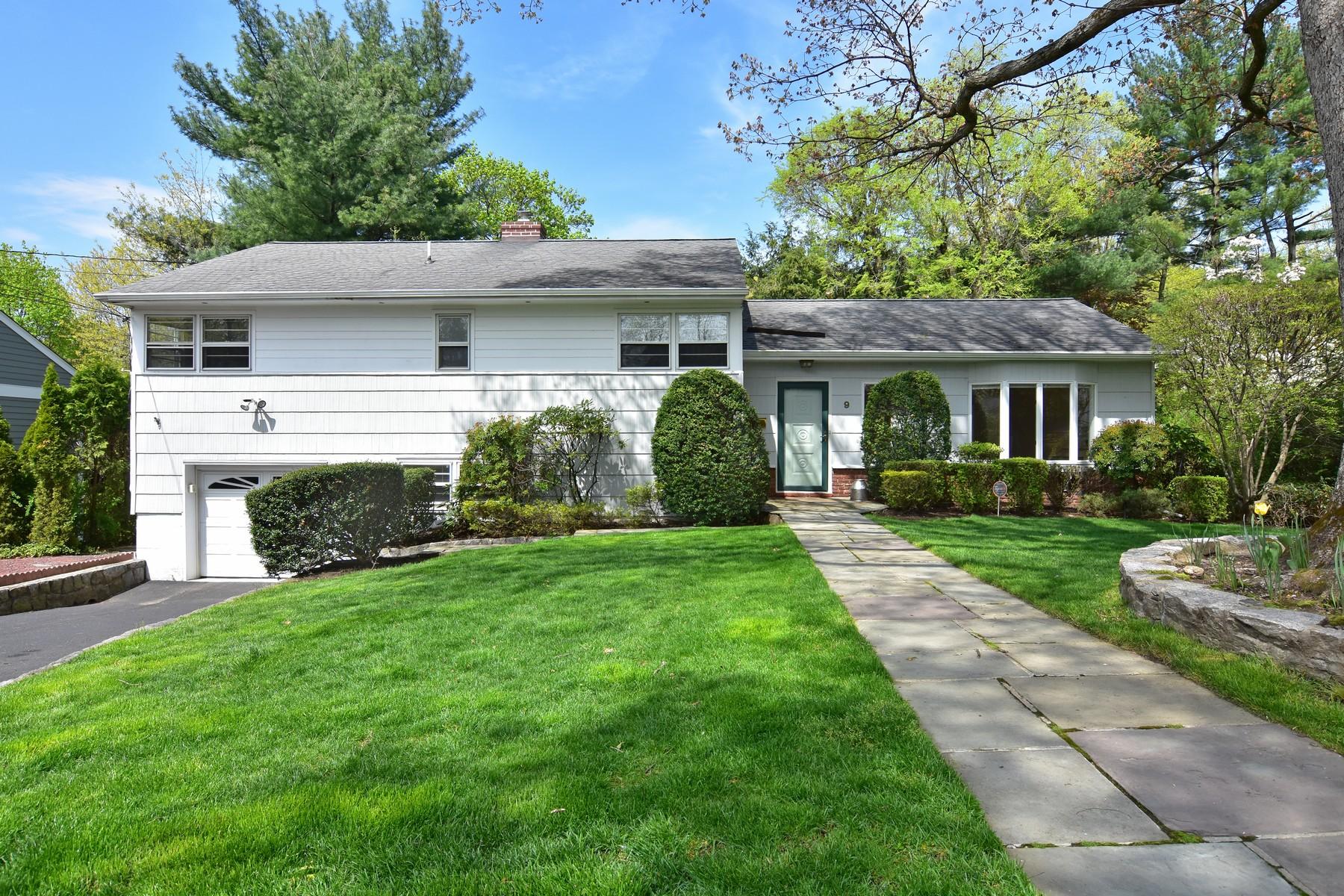 Single Family Homes för Försäljning vid Expansive Split Level 9 Kensington Road, Ardsley, New York 10502 Förenta staterna