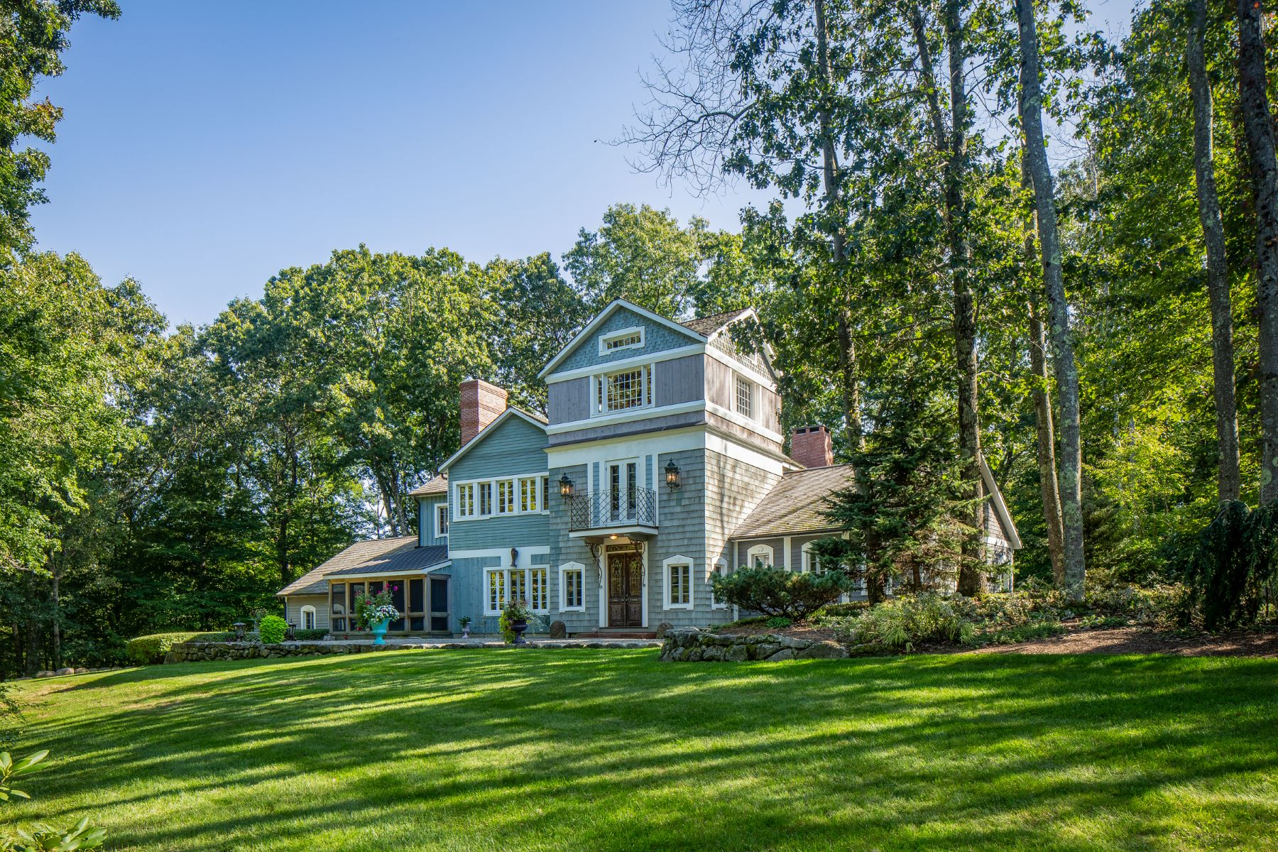 Single Family Homes for Sale at Imaginary Farms 51 Bear Hill Road New Milford, Connecticut 06776 United States