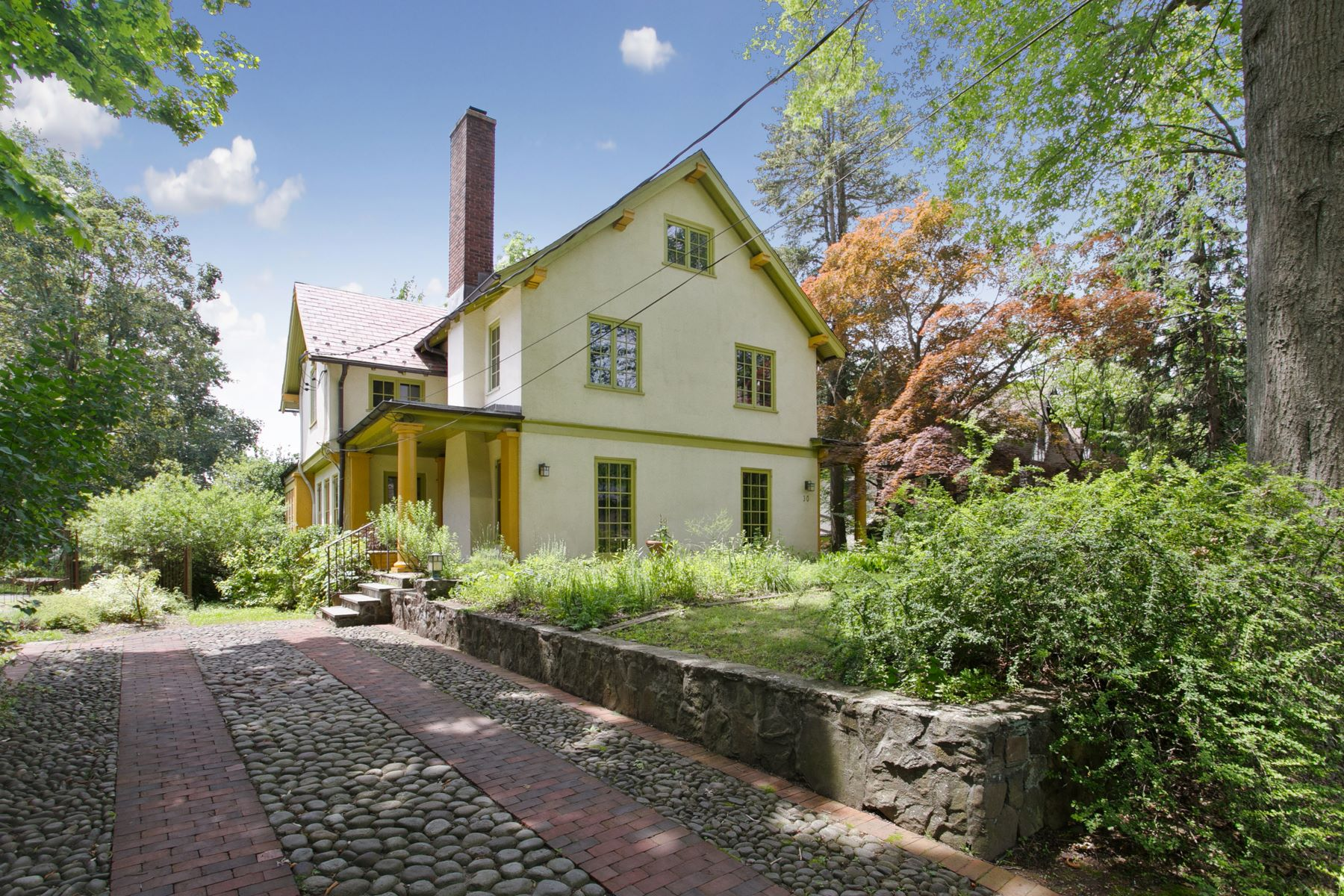 Single Family Homes for Sale at Enchanting Storybook Home 30 Fairview Ave Tarrytown, New York 10591 United States