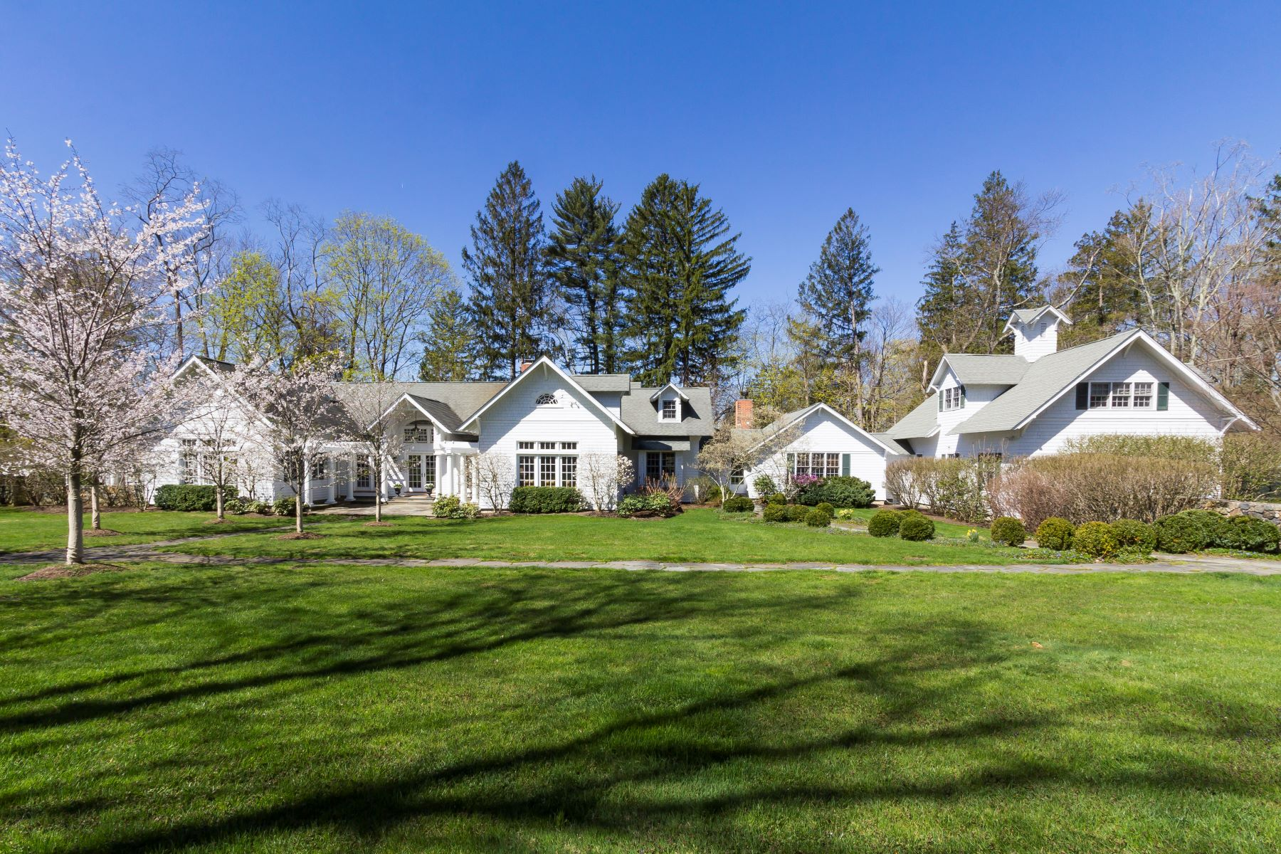 Single Family Home for Sale at Renovated & Expanded 1920's Estate 41 Peaceable Street Ridgefield, Connecticut 06877 United States