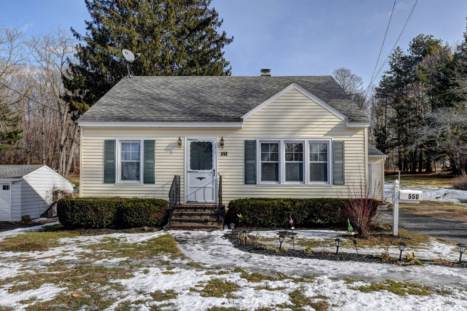 Single Family Home for Active at Roomy Dalton Cape on a Very Large Sunny Lot with Many Recent Big Ticket Updates! 550 South St Dalton, Massachusetts 01226 United States
