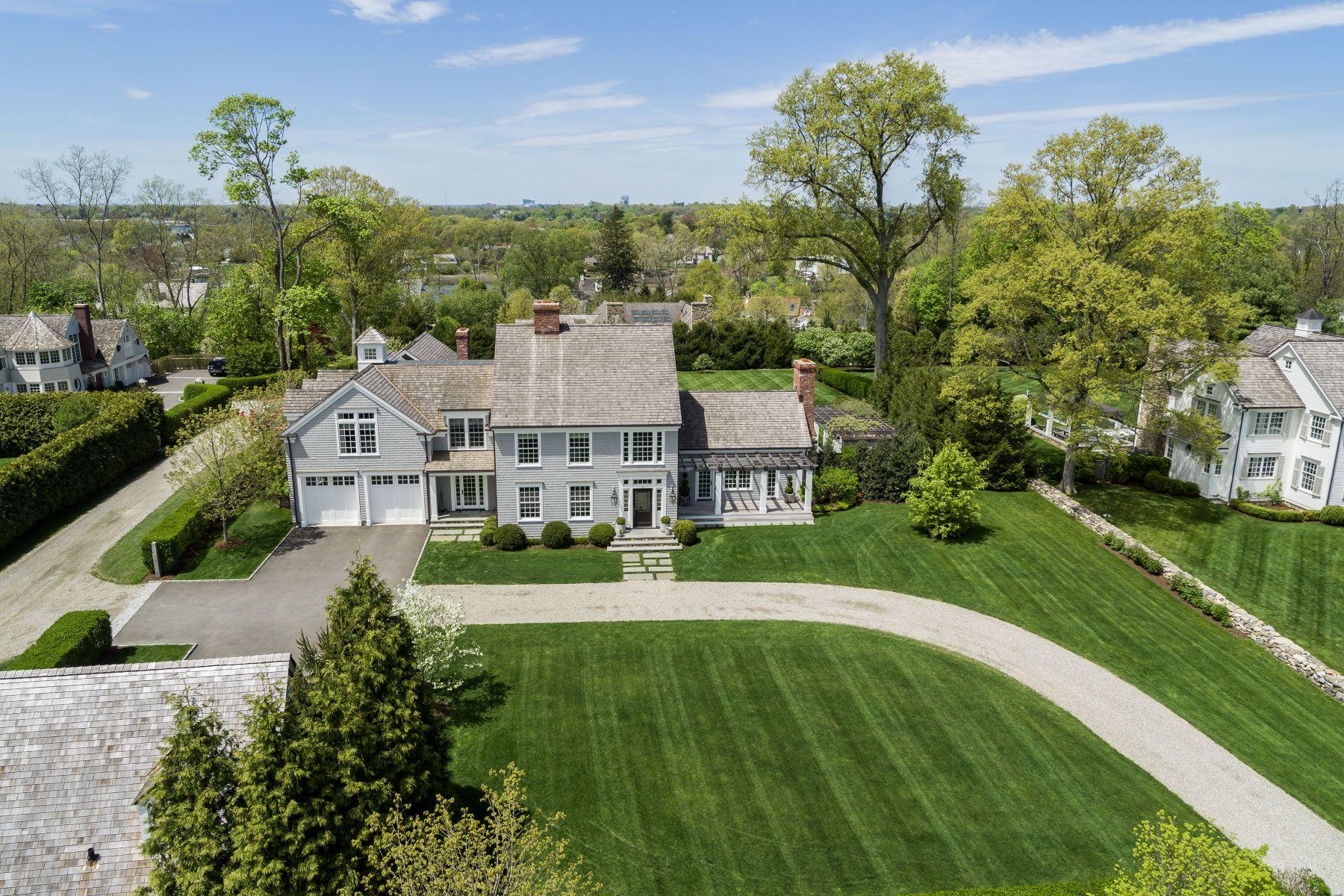 Maison unifamiliale pour l Vente à 90 Long Neck Point Road 90 Long Neck Point Road Darien, Connecticut 06820 États-Unis