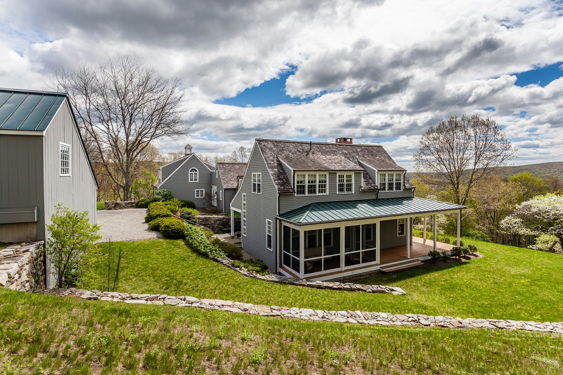 Single Family Home for Sale at Contemporary Elegance 152 Ore Hill Road Kent, Connecticut, 06785 United States