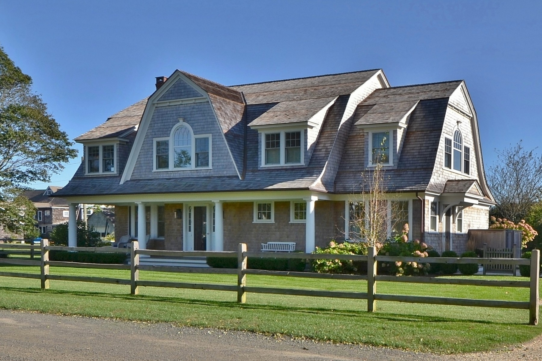 Single Family Homes for Sale at Beautiful Fenwick Waterfront Home 23 Pettipaug Avenue, Old Saybrook, Connecticut 06475 United States