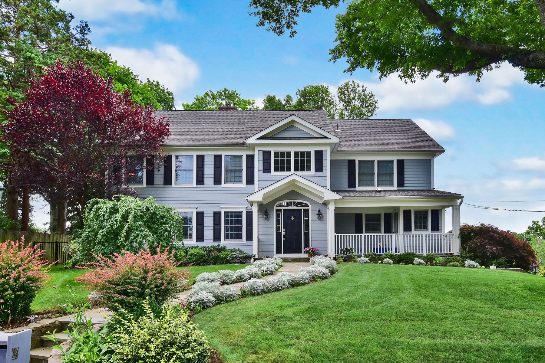 Single Family Home for Sale at Elegant Colonial 74 Hillandale Drive New Rochelle, New York 10804 United States