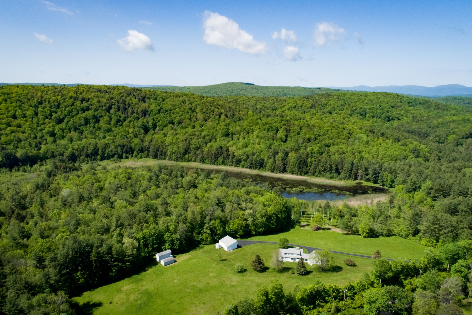 Single Family Home for Sale at Outstanding 140+ Acre Property, with Picturesque 2,379 SF Cape 540 Main Rd Monterey, Massachusetts 01245 United States
