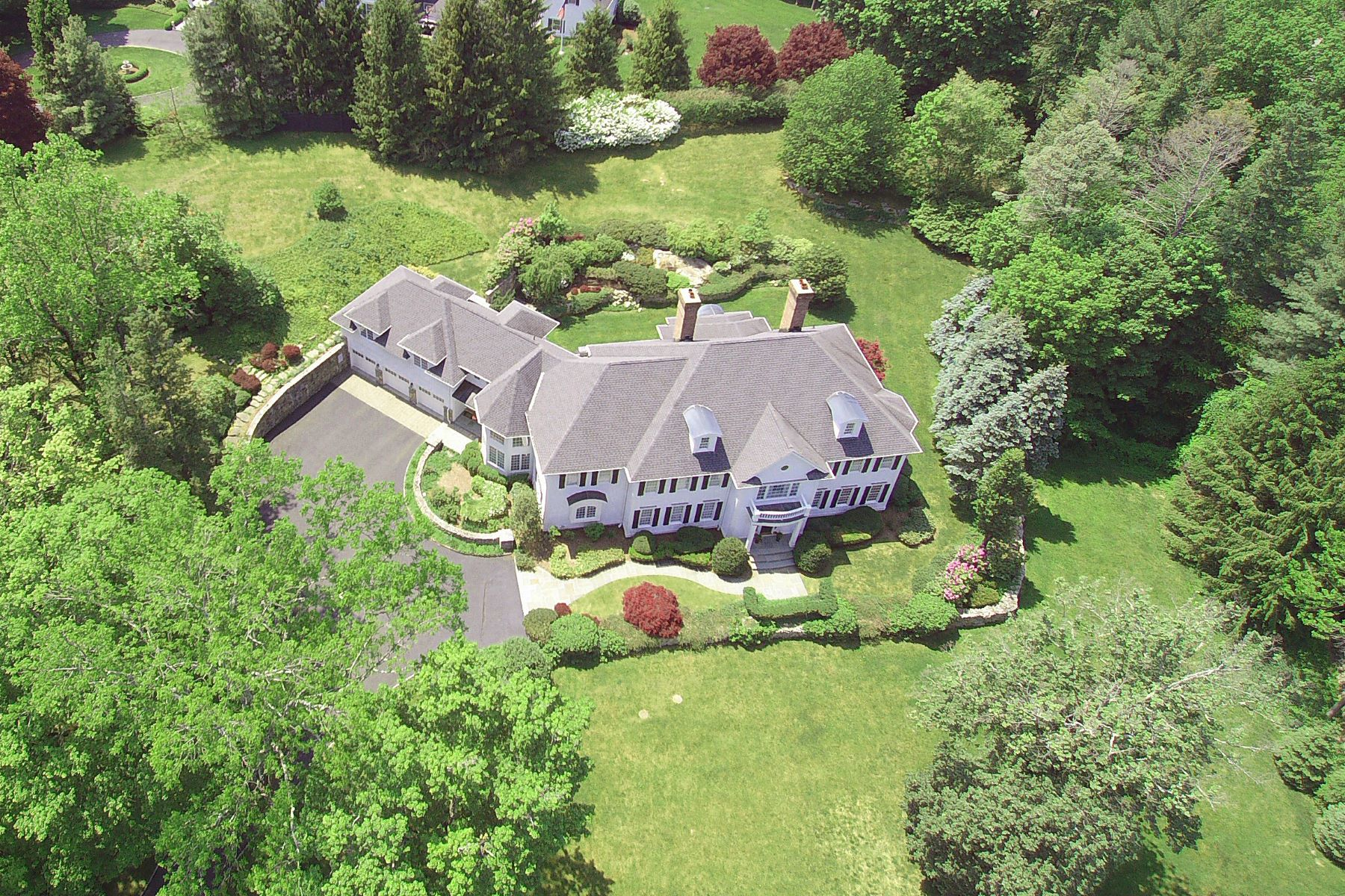 Single Family Home for Sale at Exquisite Custom Home 6 Country Club Road Ridgefield, Connecticut 06877 United States