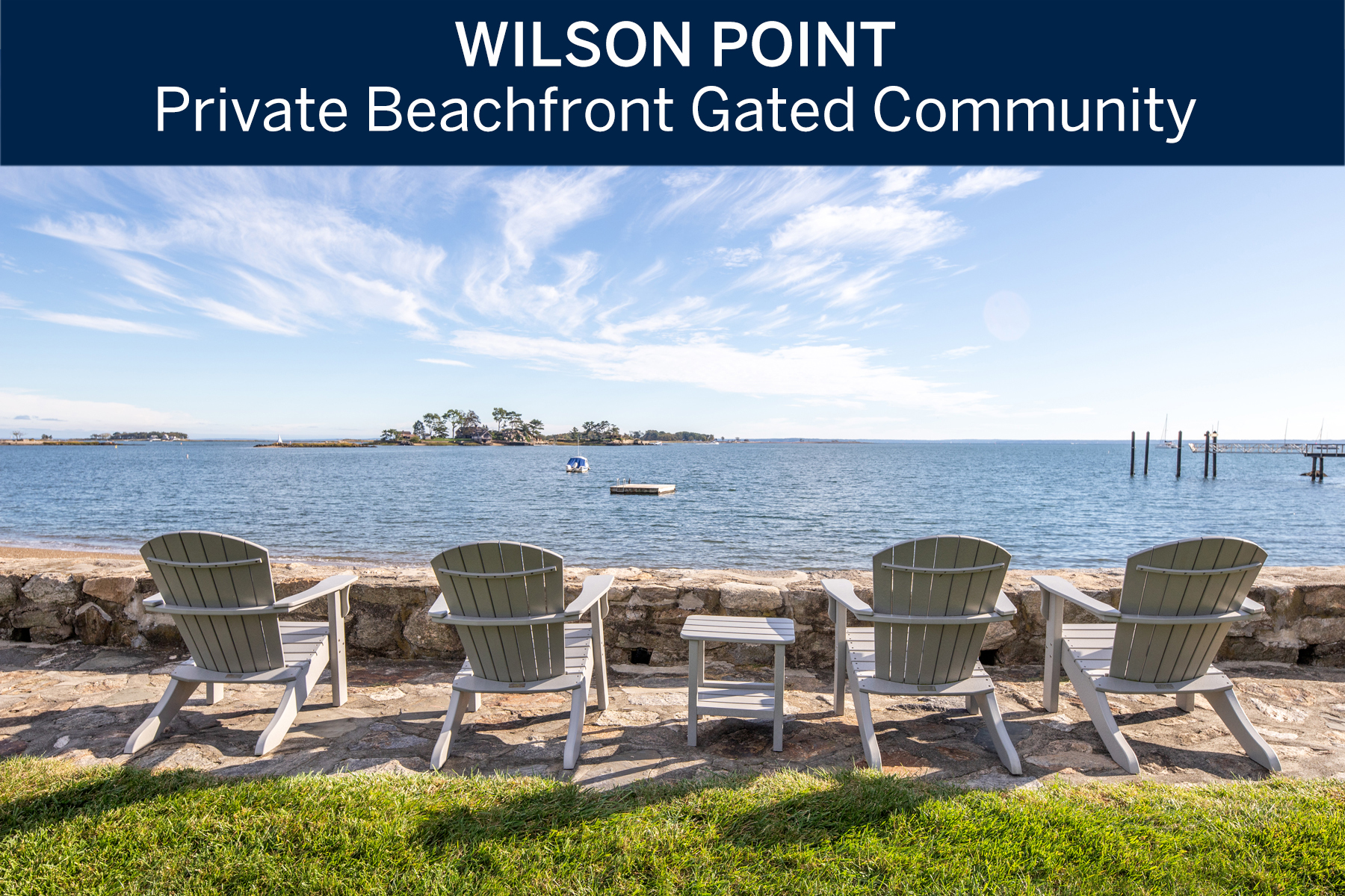 Single Family Homes per Vendita alle ore Enjoy this Luxury Lifestyle of Wilson Point! 35 Hilltop Road, Norwalk, Connecticut 06854 Stati Uniti