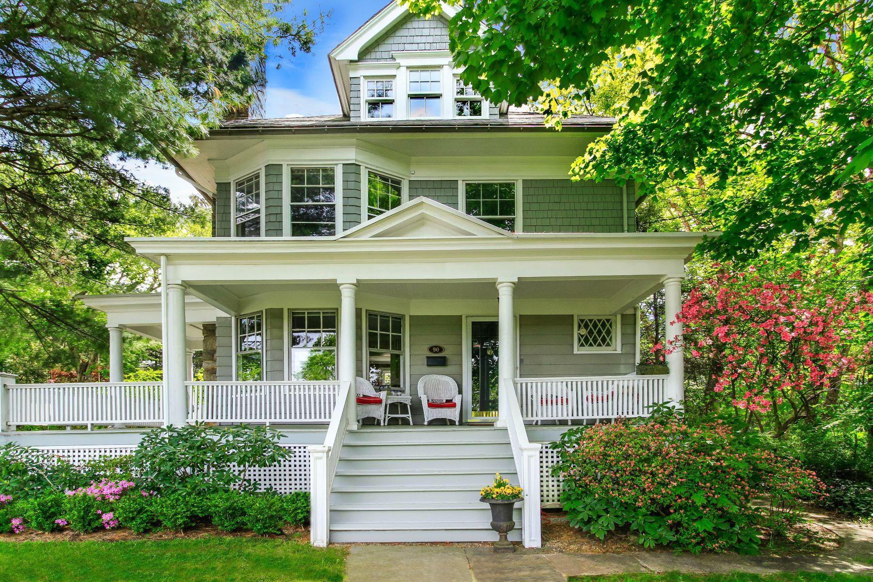 Частный односемейный дом для того Продажа на Renovated Victorian Beauty 90 Holland Place Hartsdale, Нью-Йорк, 10530 Соединенные Штаты