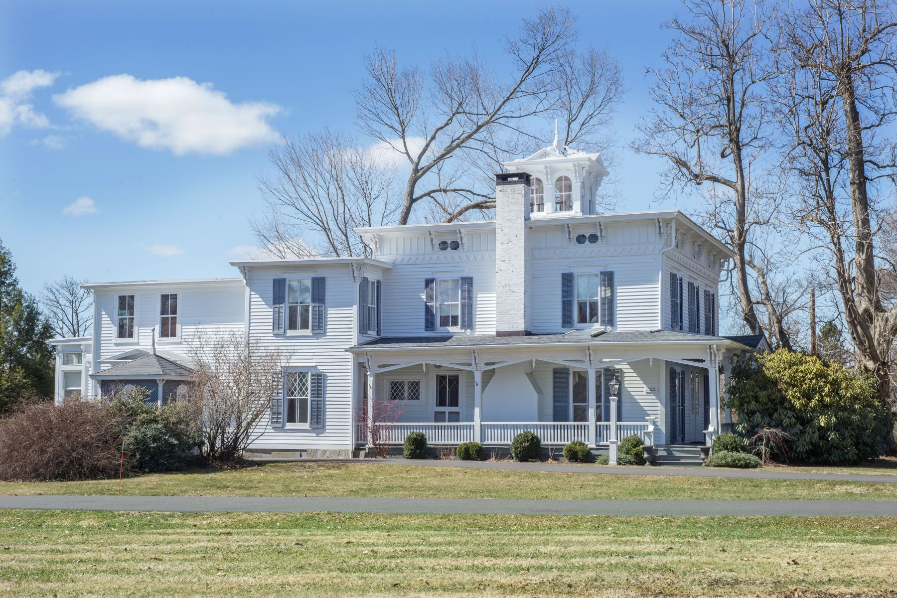 Single Family Home for Sale at Exquisite Victorian Italianate Antique 176 Cross Highway Redding, Connecticut 06896 United States