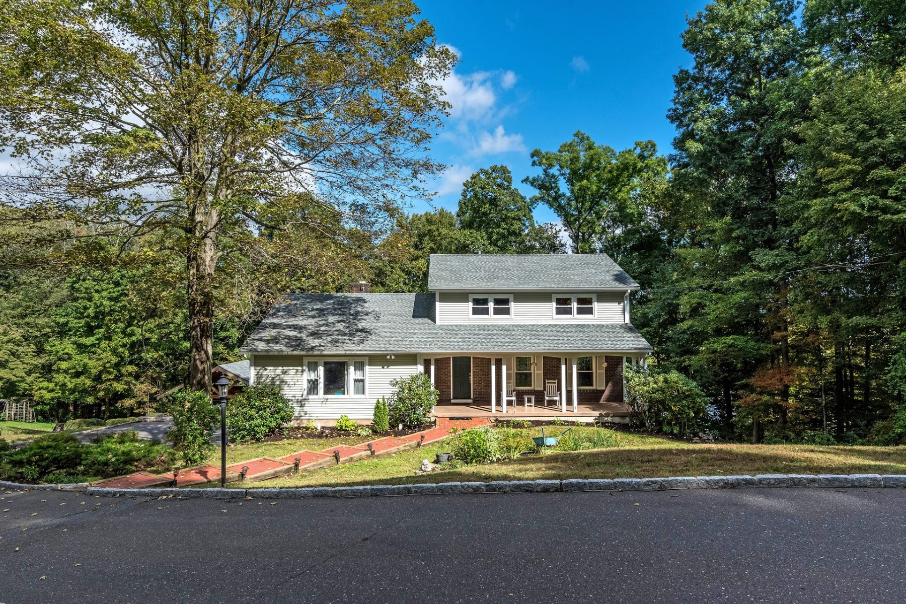 Single Family Home for Sale at Updated Colonial in Desirable Neighborhood 44 Fairmount Dr Danbury, Connecticut 06811 United States