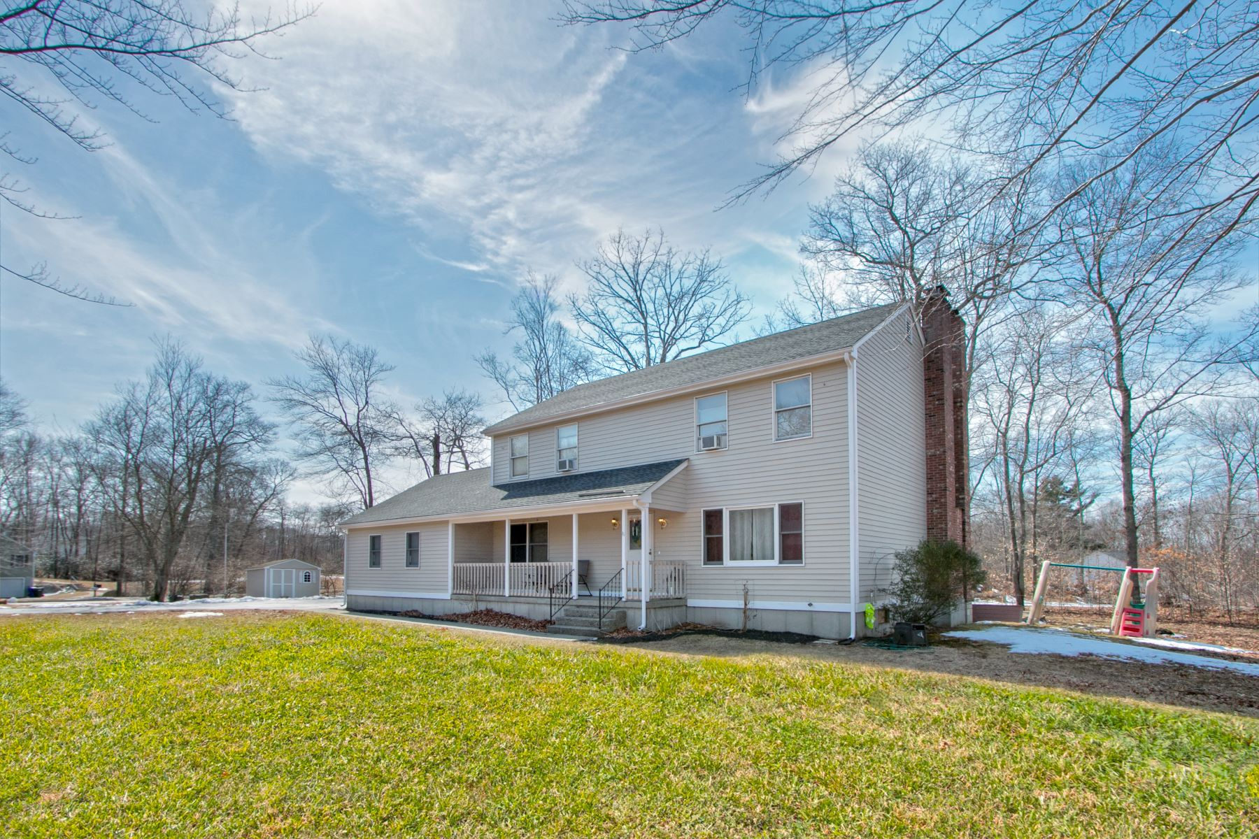 Single Family Homes for Sale at A Corner Lot Gem 210 Gales Ferry Road Groton, Connecticut 06340 United States