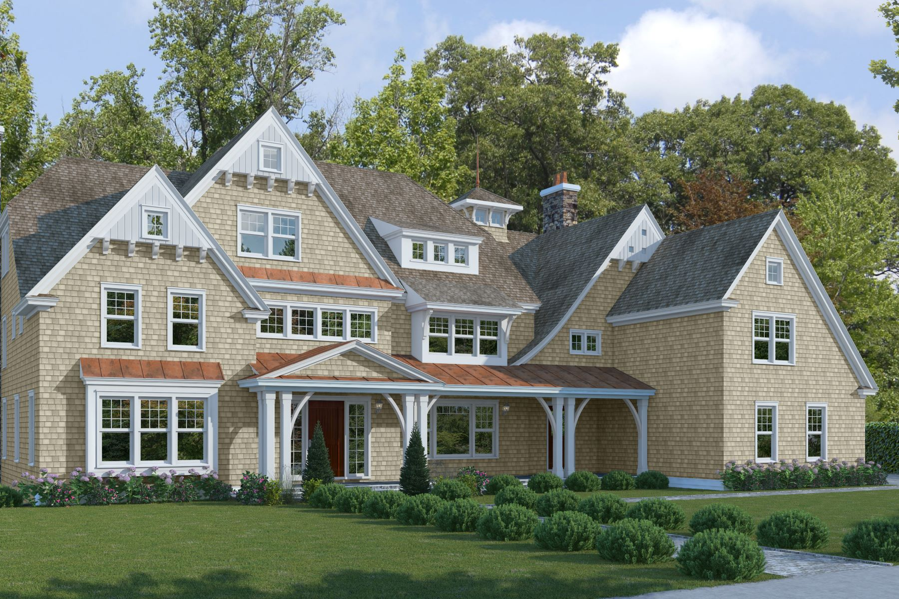 Casa Unifamiliar por un Venta en Extraordinary New Construction 729 Smith Ridge Road New Canaan, Connecticut 06840 Estados Unidos