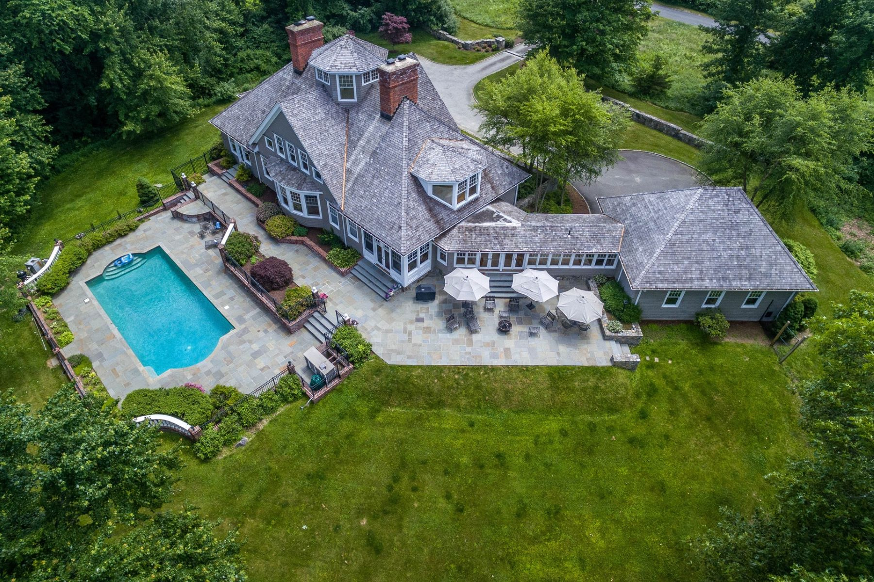 Single Family Home for Sale at CUSTOM COLONIAL 1 Meadows Edge Redding, Connecticut 06896 United States