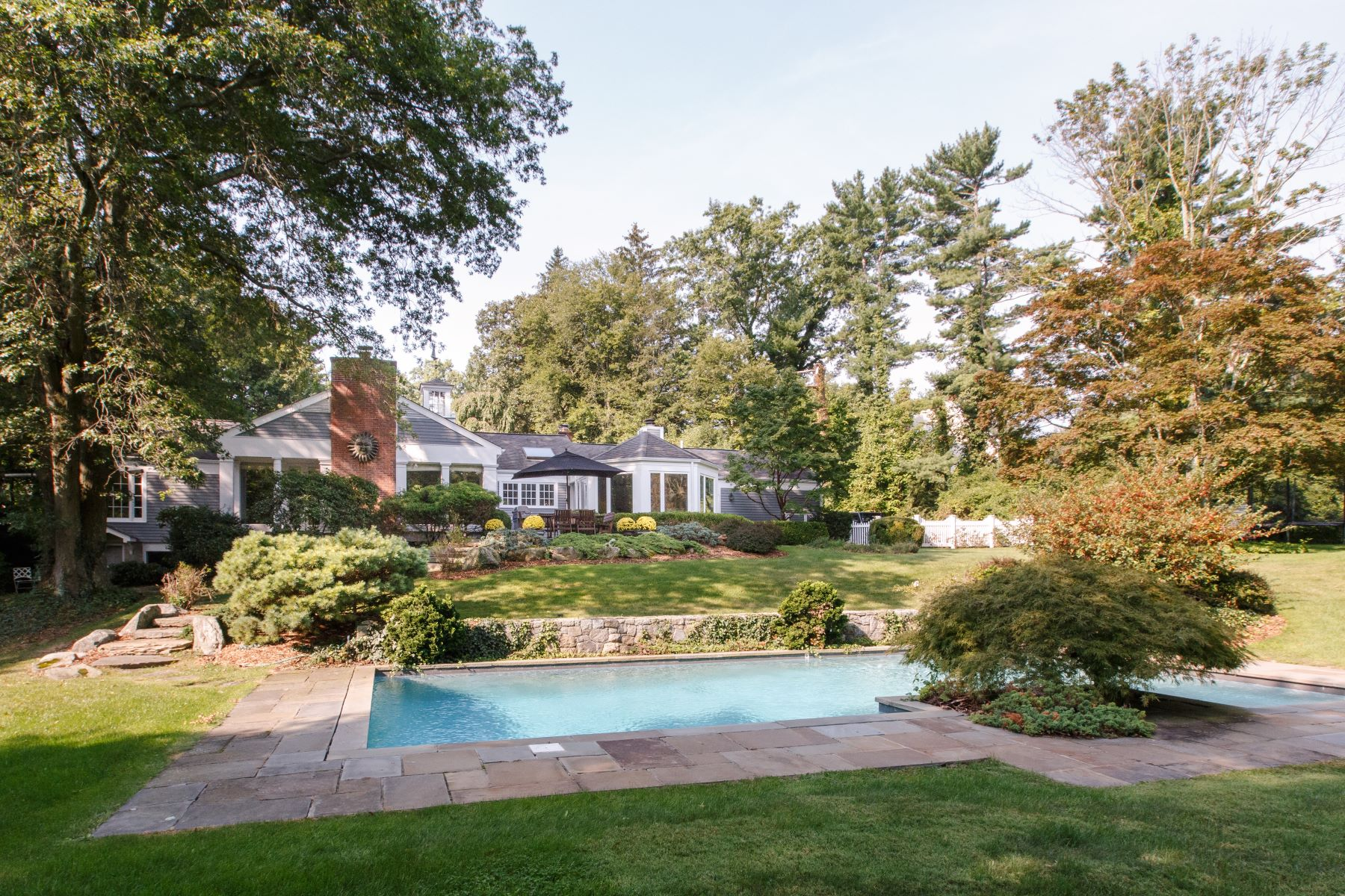 Single Family Homes for Sale at New Canaan, Connecticut 06840 United States