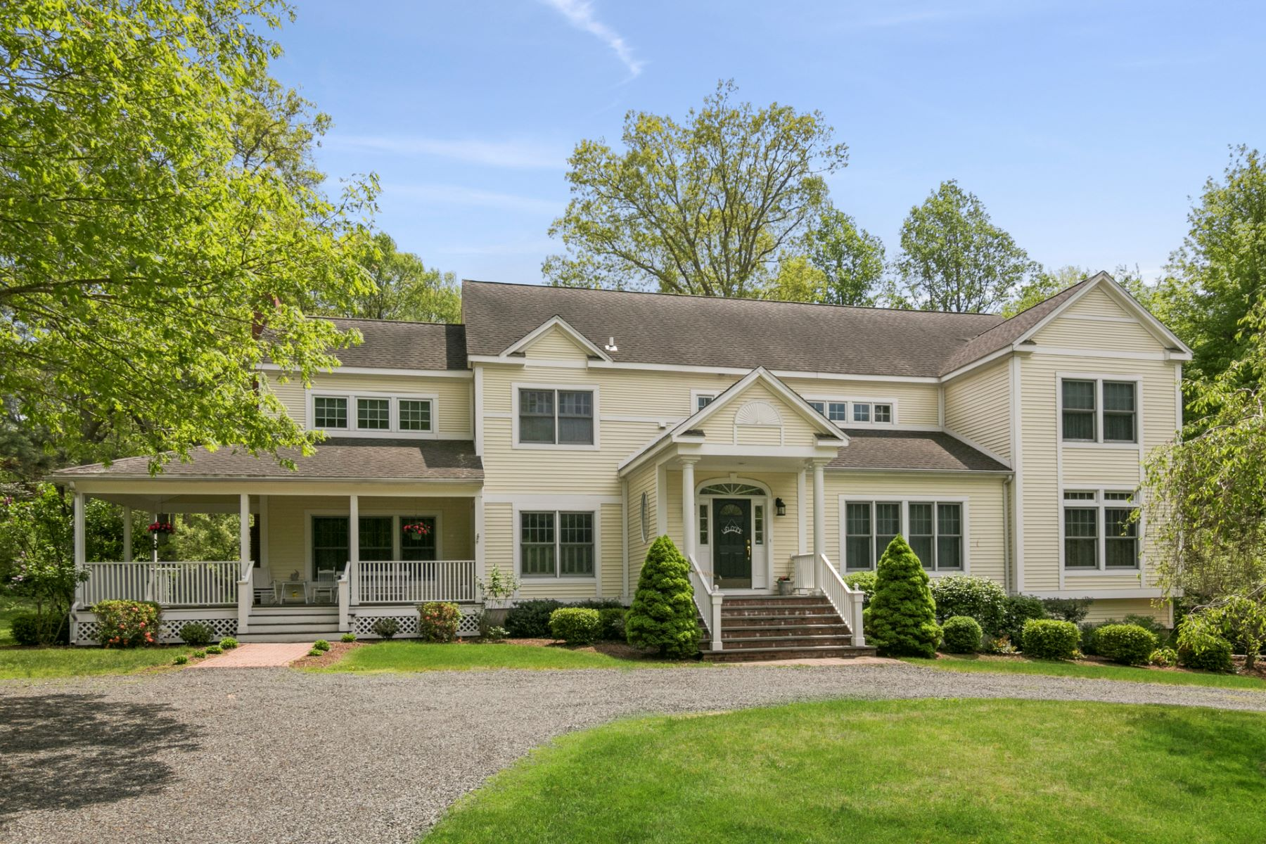 Single Family Homes for Sale at 8 East Bearhouse Hill Road Guilford, Connecticut 06437 United States