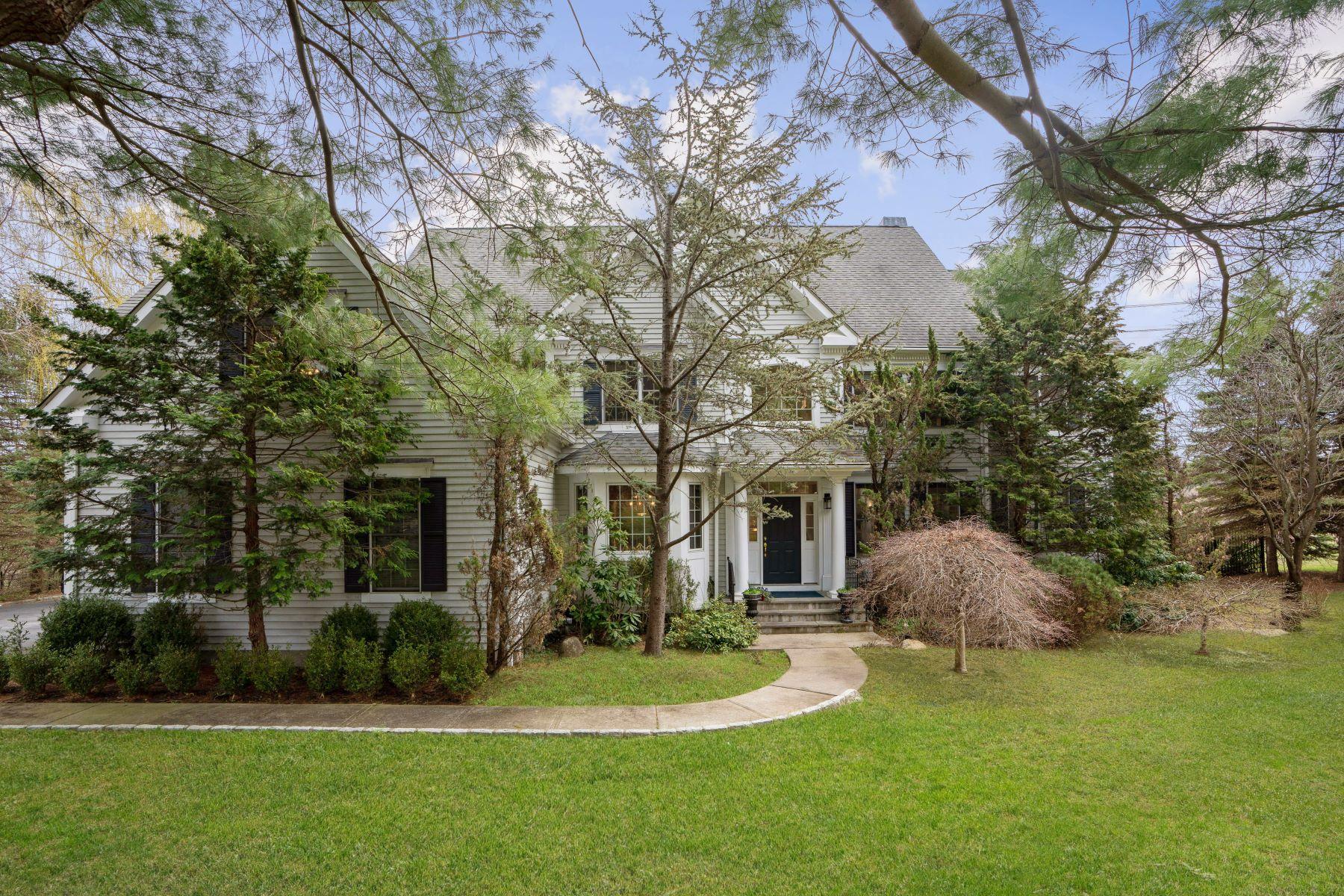 Single Family Homes 为 销售 在 Light Filled Colonial with Lush Park-Like Grounds 3 Jordan Lane 阿德斯里, 纽约 10502 美国