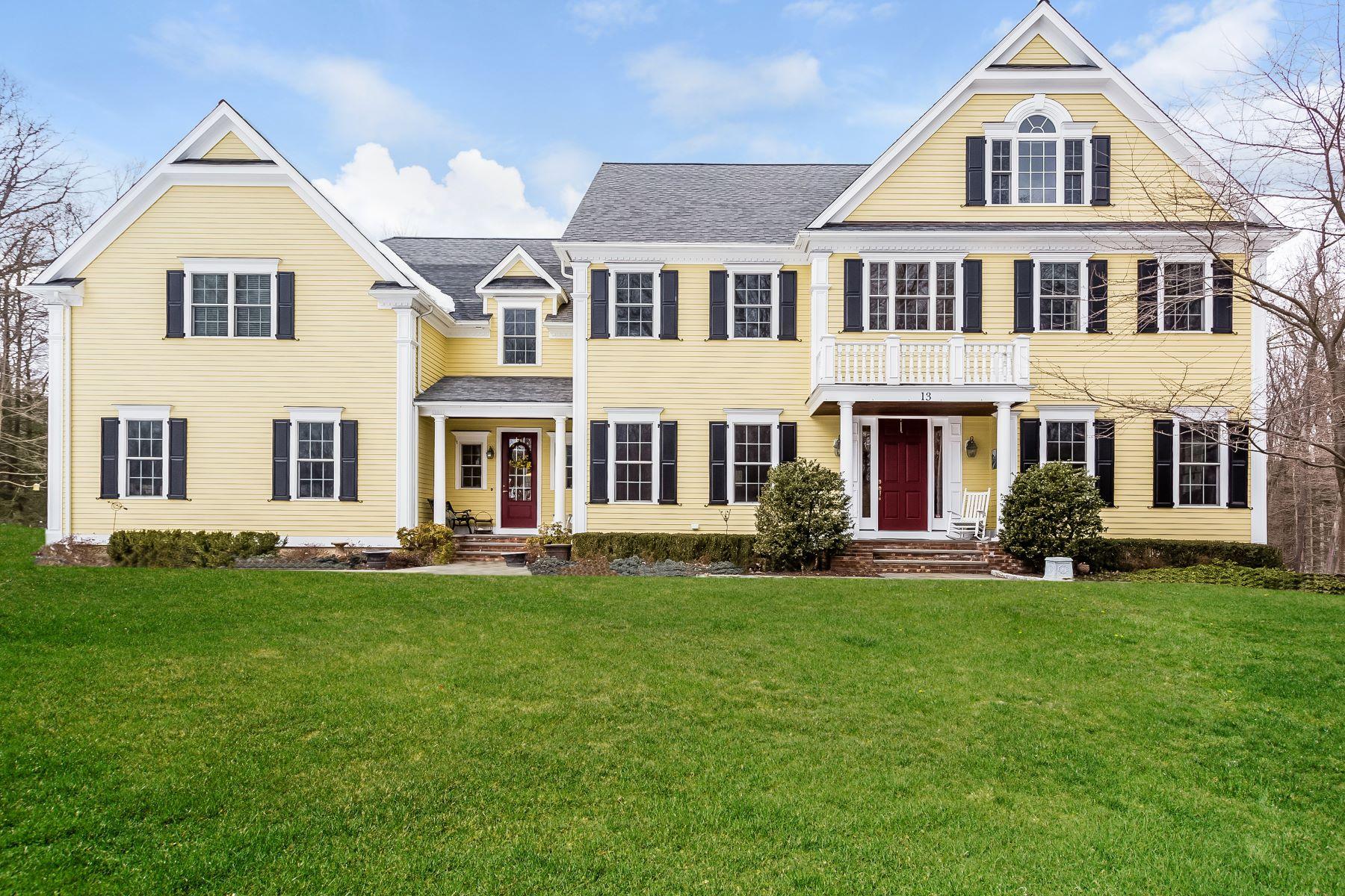 واحد منزل الأسرة للـ Sale في Extraordinarily Custom Built Home 13 Belden Hill Road, Brookfield, Connecticut, 06804 United States