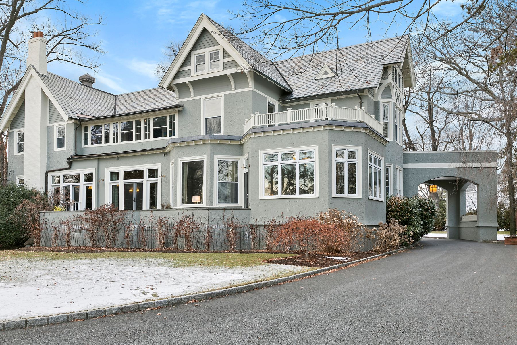 Single Family Home for Sale at Style and Sophistication in Larchmont Manor 2 Oak Bluff Avenue, Larchmont, New York, 10538 United States