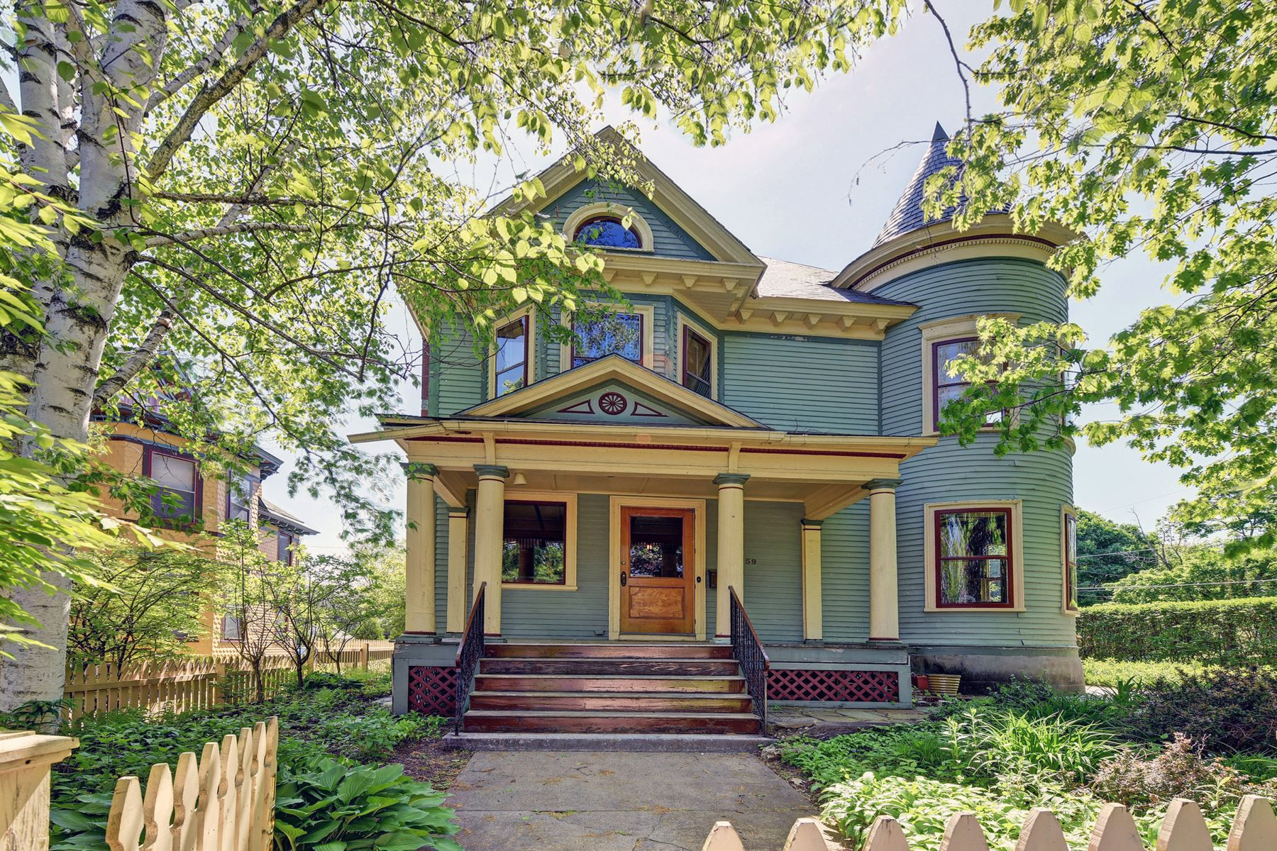 Single Family Homes for Active at Gracious and Elegant Victorian in Downtown Cultural District 159 Wendell Ave Pittsfield, Massachusetts 01201 United States